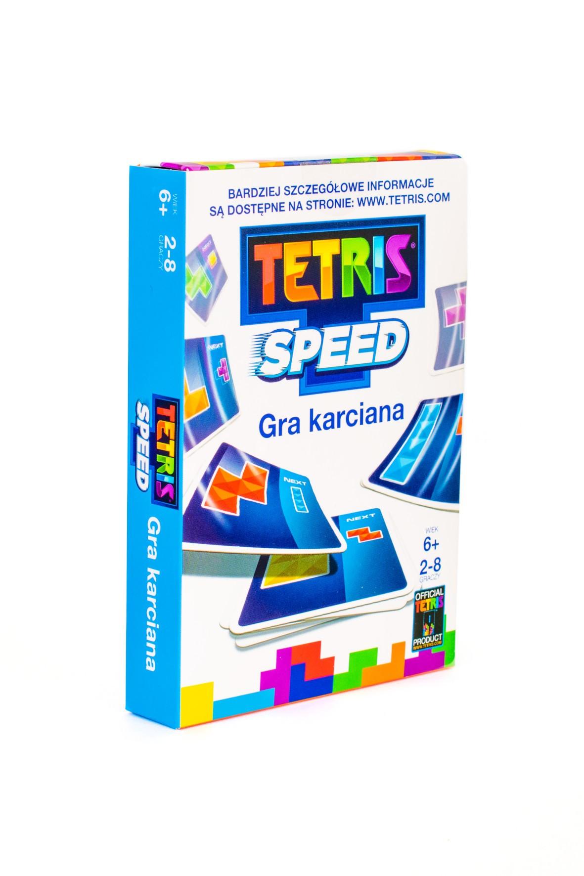 Tetris Speed Gra karciana wiek 6+
