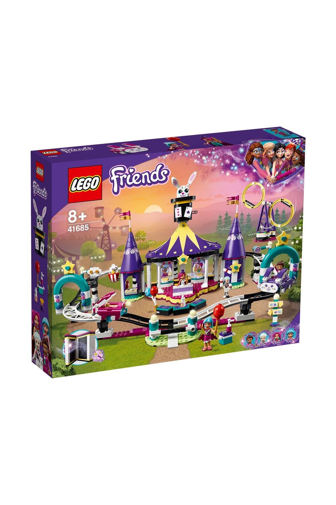 Lego Friends Magiczne wesołe miasteczko z kolejką górską  - 971 el, wiek 8+