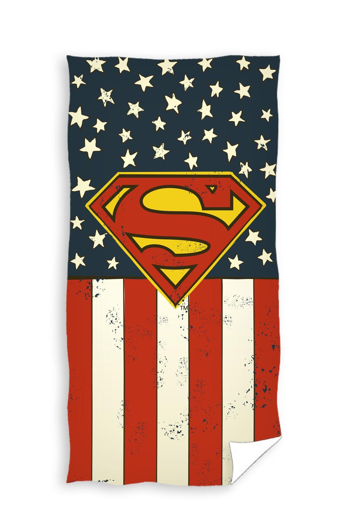 Ręcznik kąpielowy 70x140cm Superman