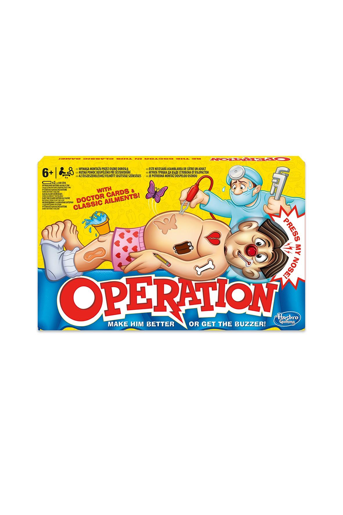 """Gra zręcznościowa """"Operacja"""" 6+"""