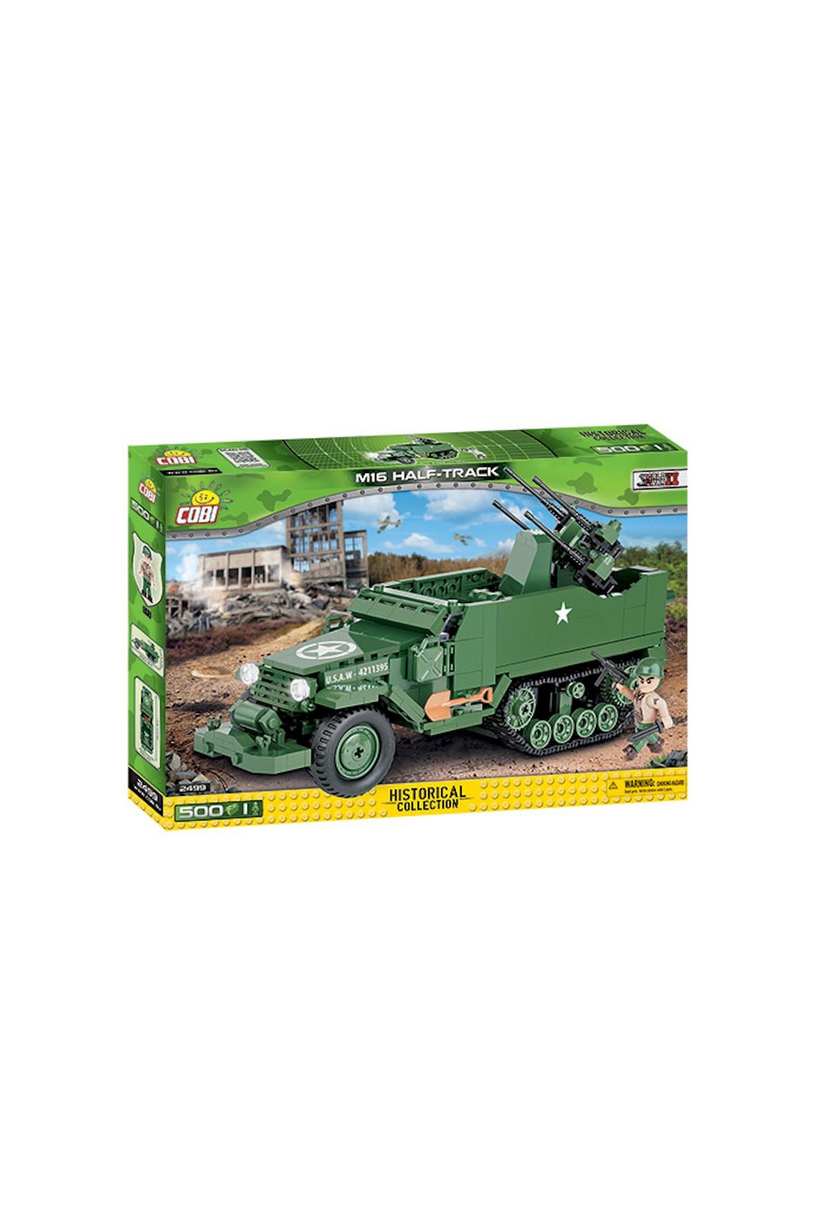 Klocki Small Army M-16 Alf-track 500el