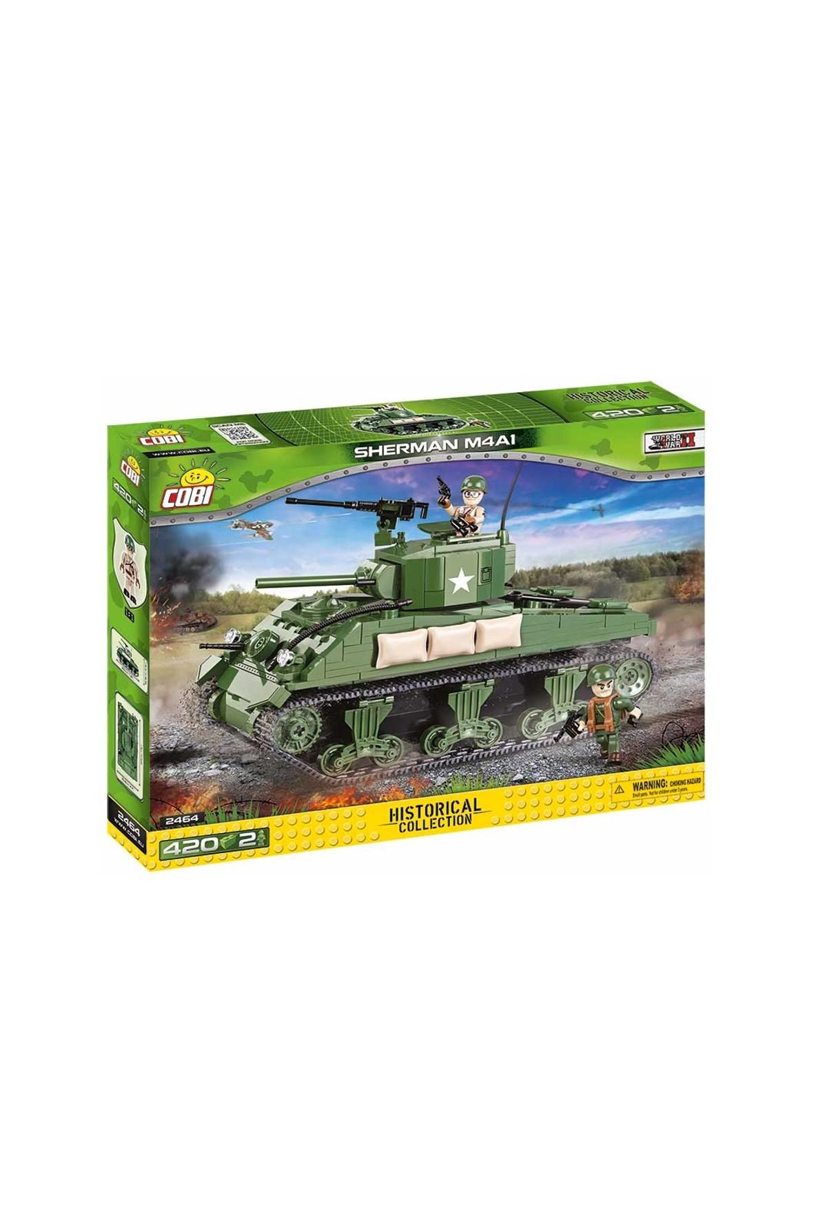 Klocki COBI Amerykański czołg średni Sherman