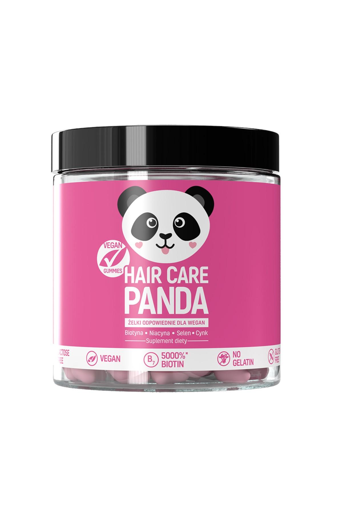Witaminy na włosy Hair Care Panda Vegan Gummies 300g 60szt