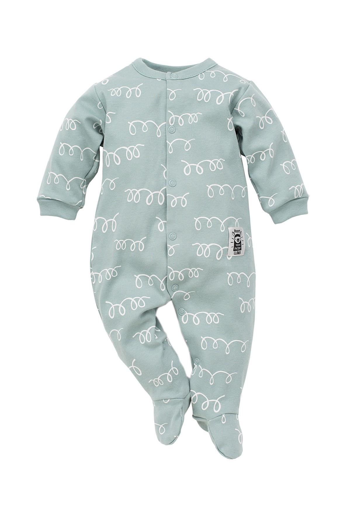Pajac bawełniany dla niemowlaka- Happy Lama