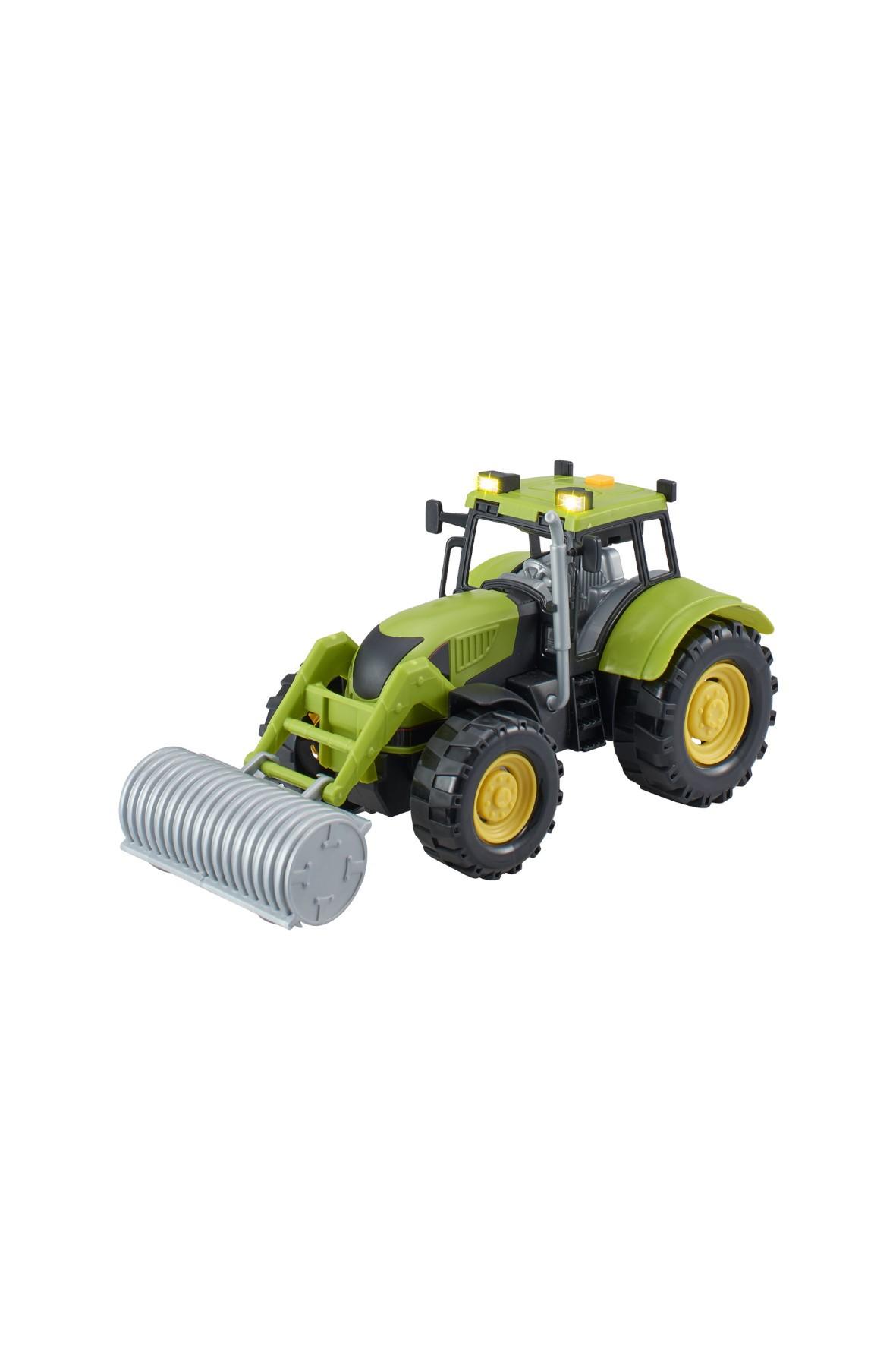Agro pojazdy - Traktor z akcesoriami zielony wiek 3+