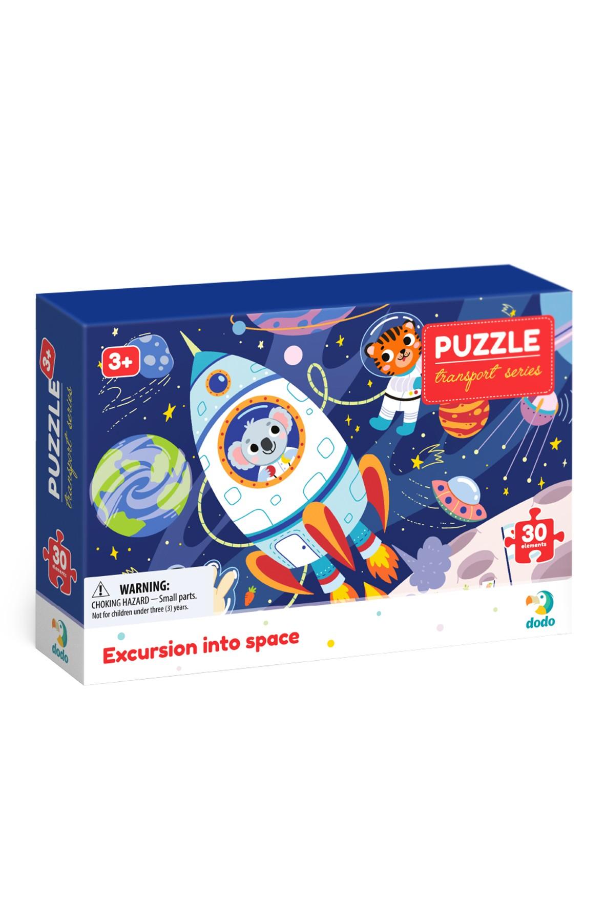 Puzzle profesje  Wyprawa w kosmos - 30 elementów  wiek 3+