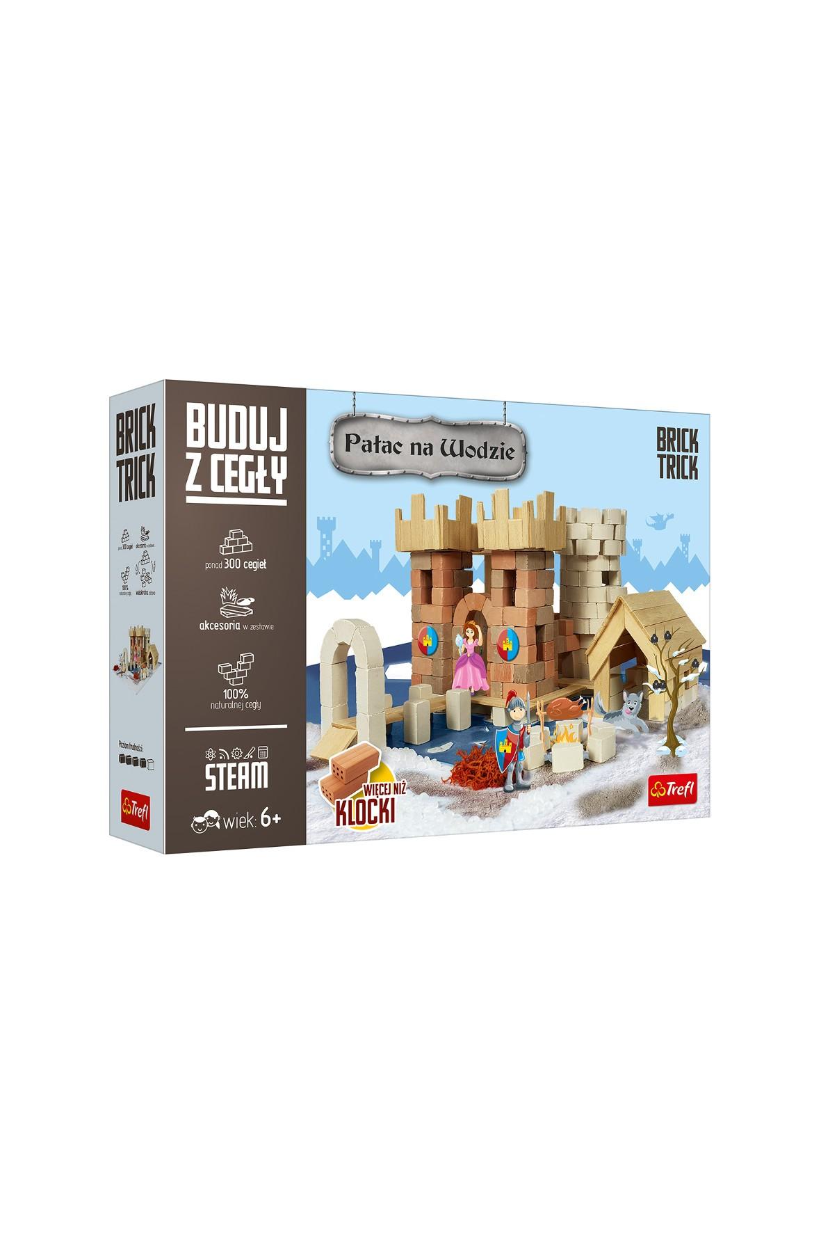 Zestaw do budowania Brick Trick - Pałac na wodzie 300el 6+