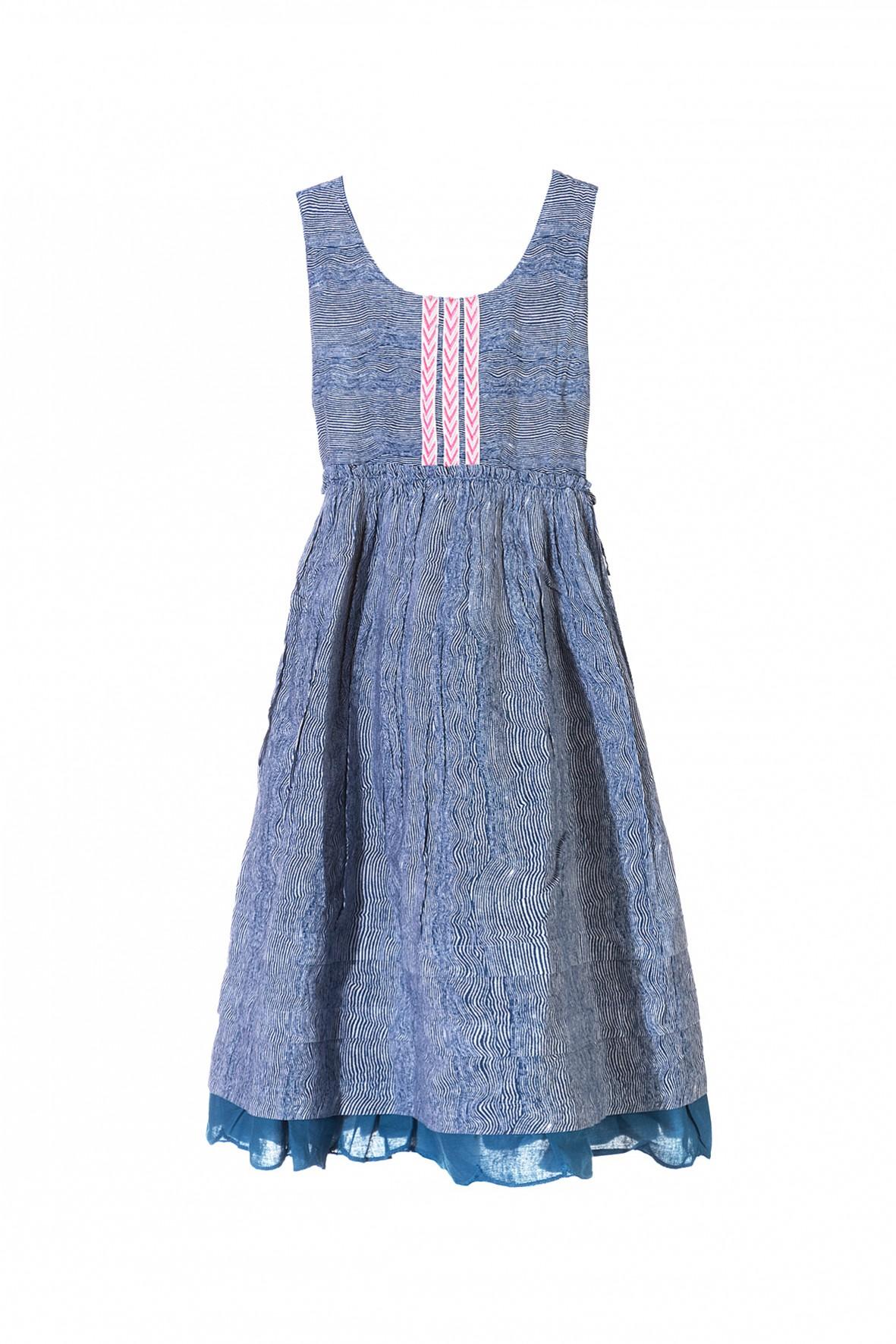 Sukienka tkaninowa dziewczęca