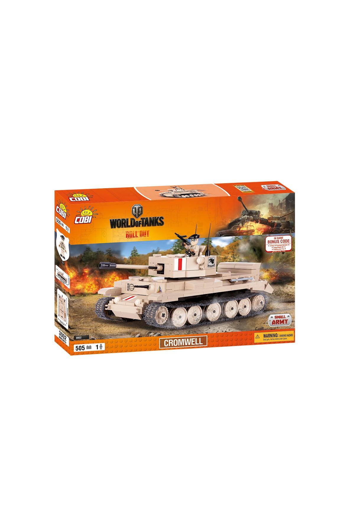 Klocki Cobi Small Army WOT Cromwell 505el