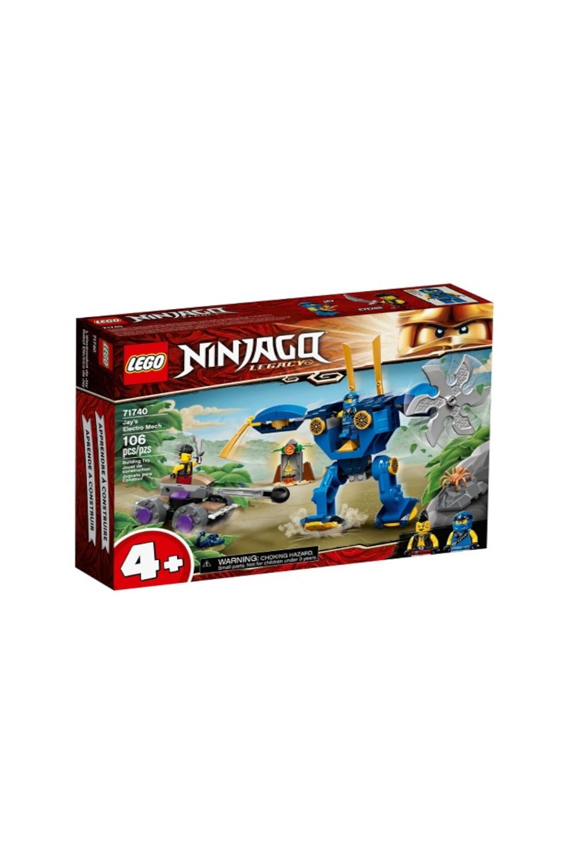 Klocki LEGO Ninjago - ElectroMech - 106 el wiek 4+
