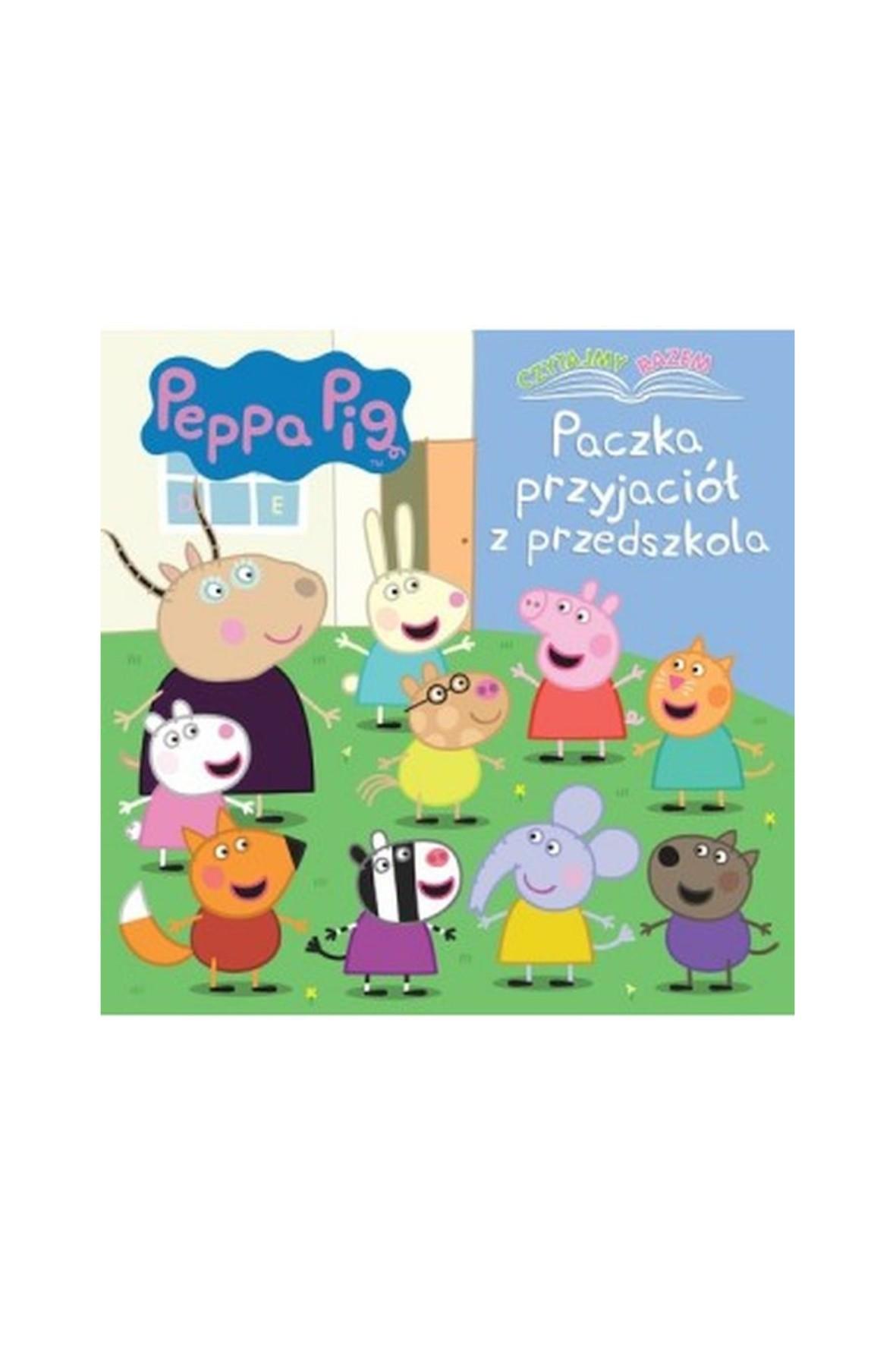 Książeczka Świnka Peppa. Czytajmy razem. Paczka przyjaciół z przedszkola.