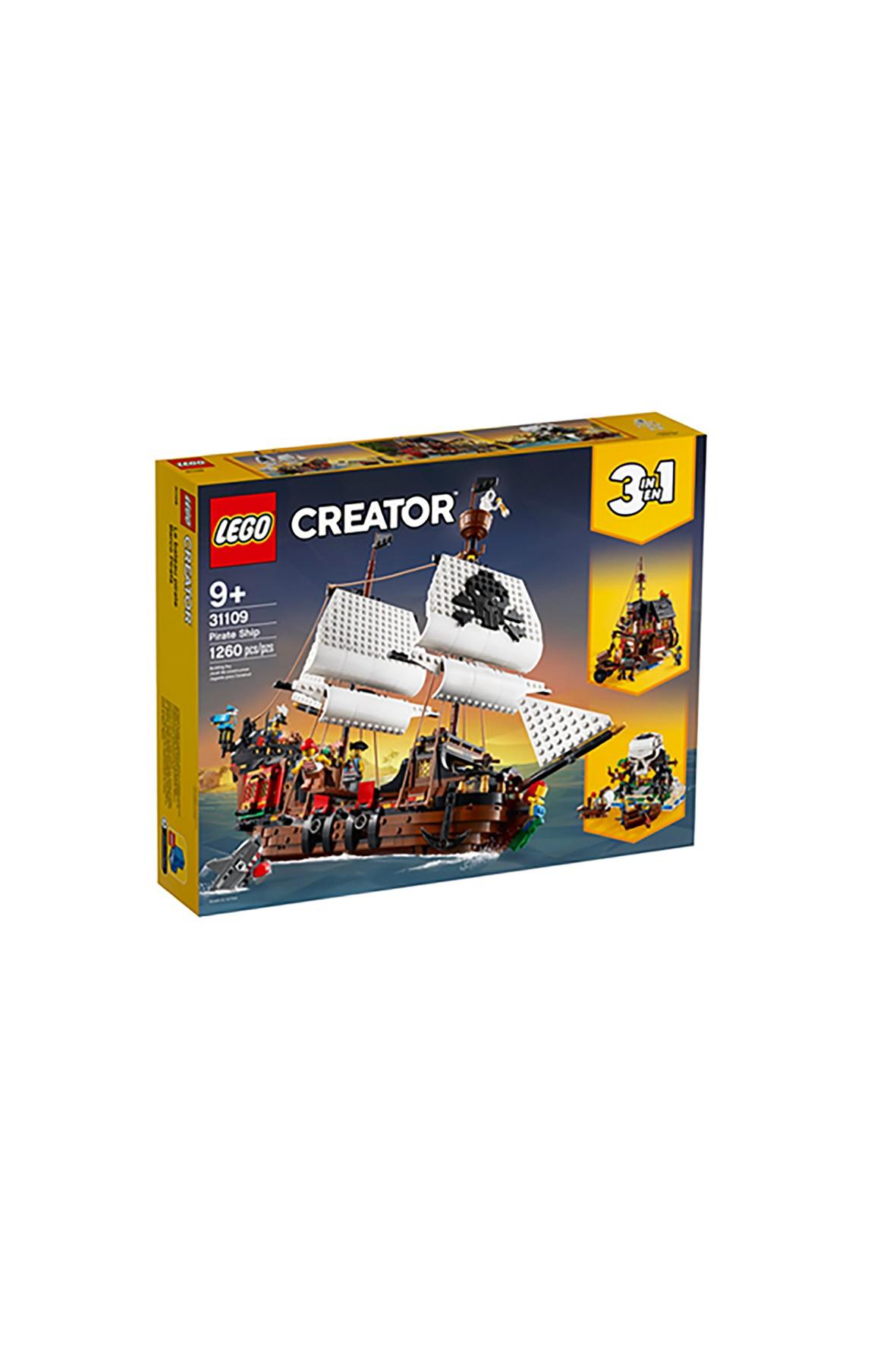 LEGO® Creator 3 w 1 Statek piracki (31109) wiek 9+