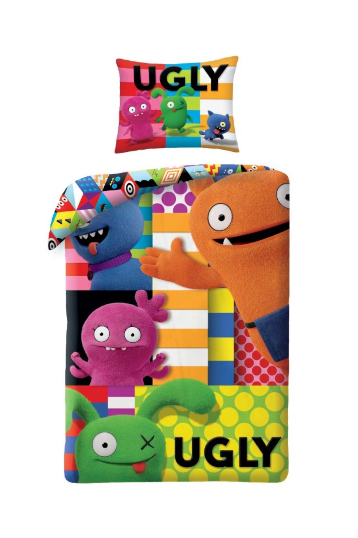 Pościel Ugly Dolls 140x200cm/70x90cm