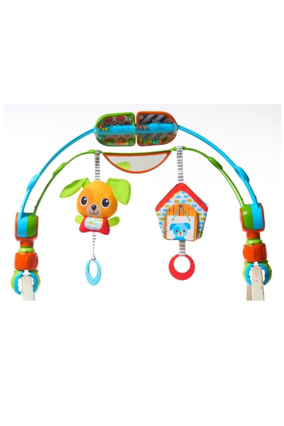 Łuk z zabawkami - Spin'n'Kick