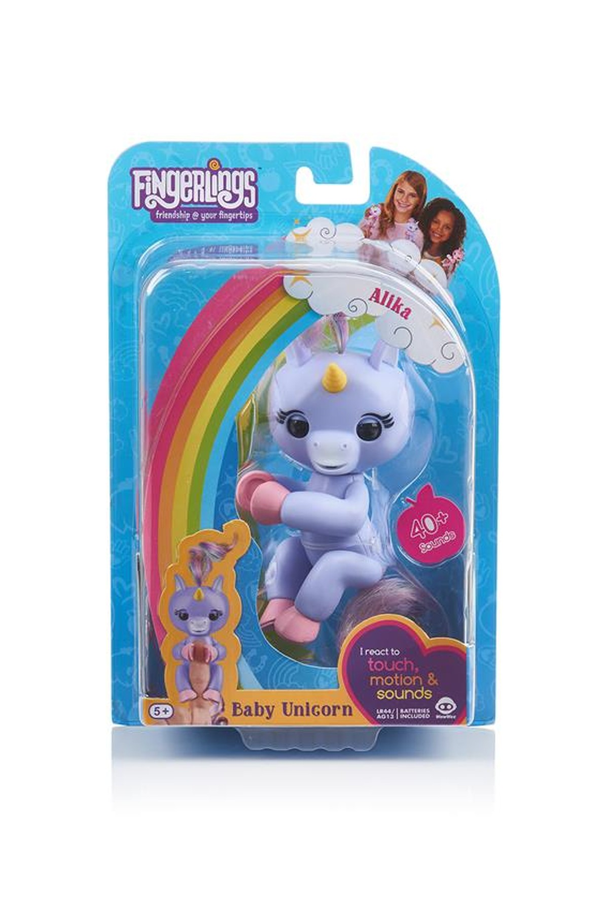 Fingerlings Jednorożec Alika