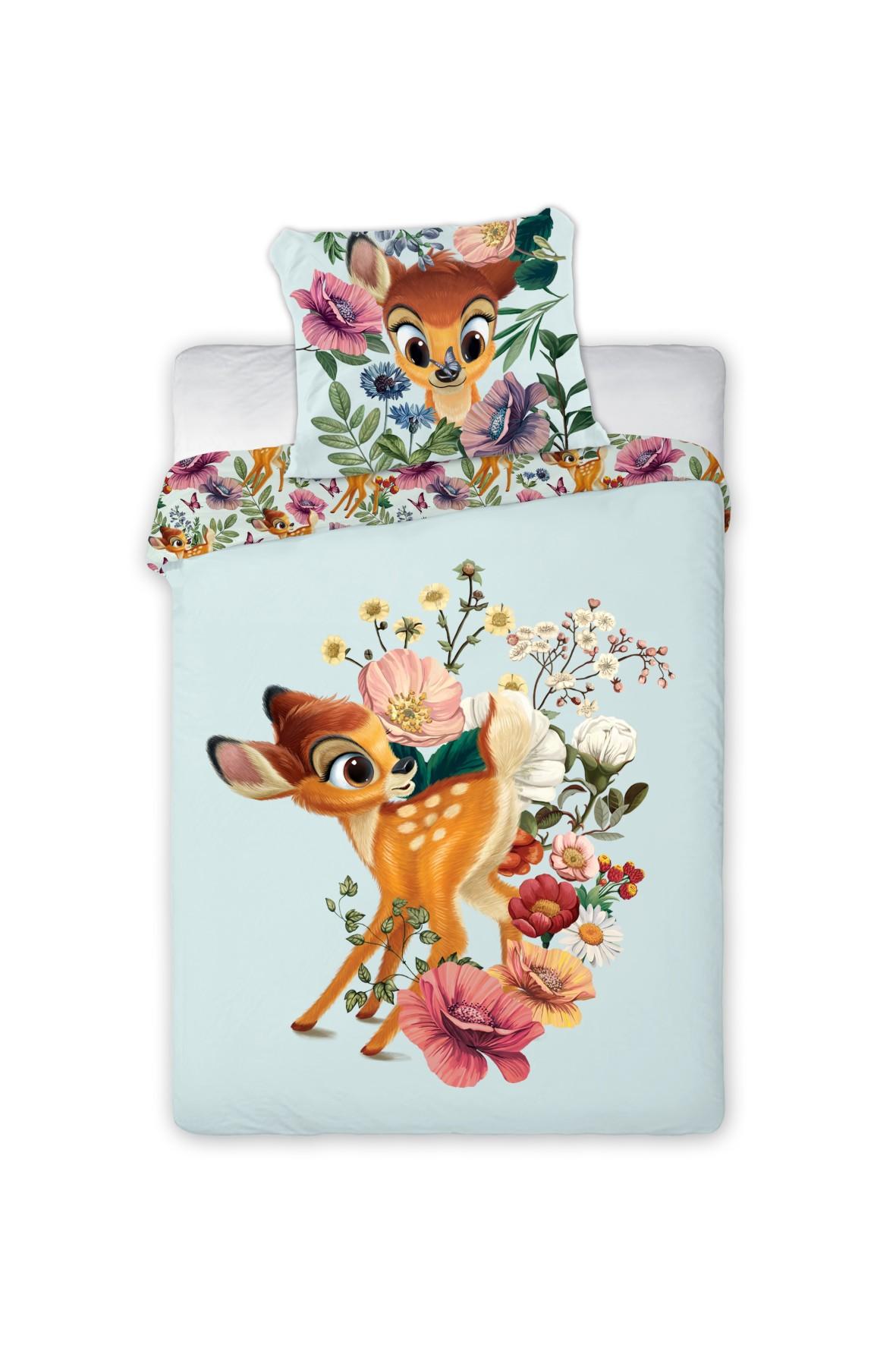 Komplet pościeli Bambi-100x135 + 40x60 cm