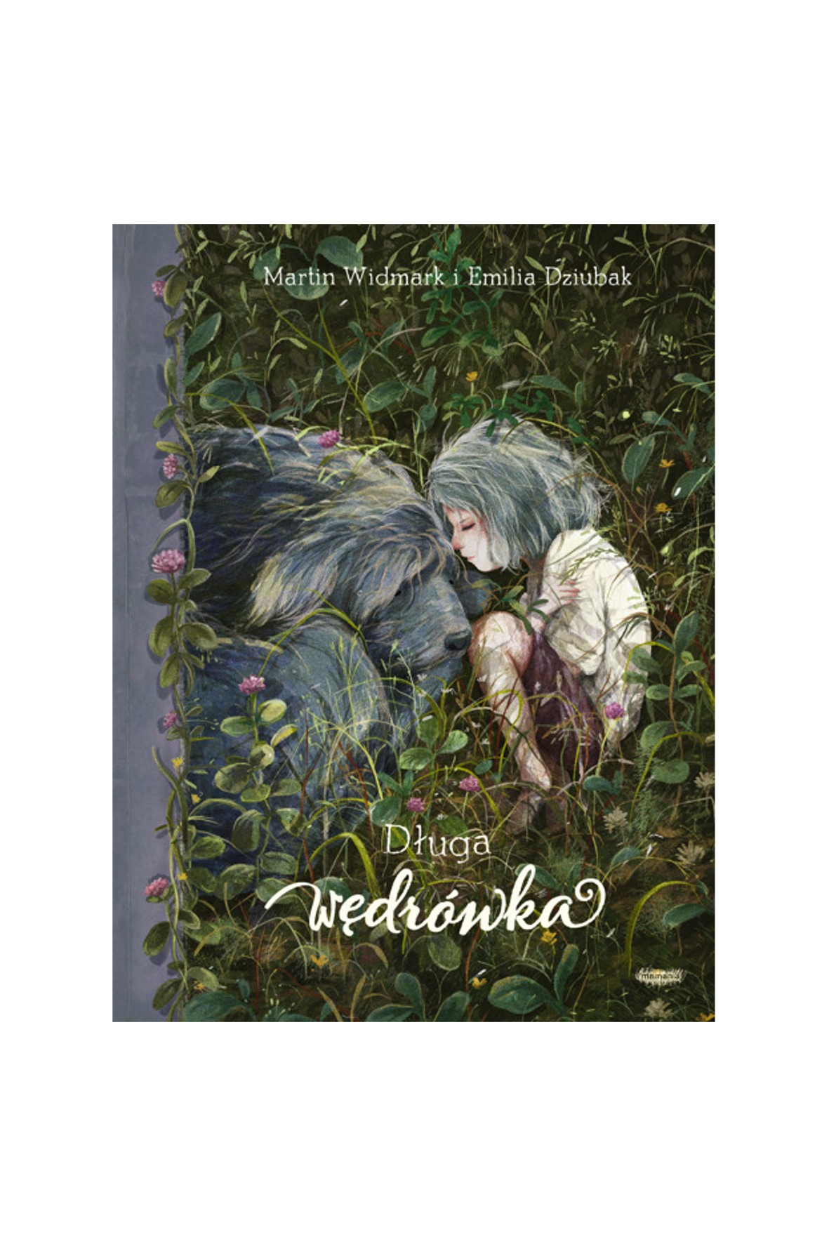 """Książka dla dzieci """"Długa wędrówka""""-M.Widmark, E.Dziubak"""