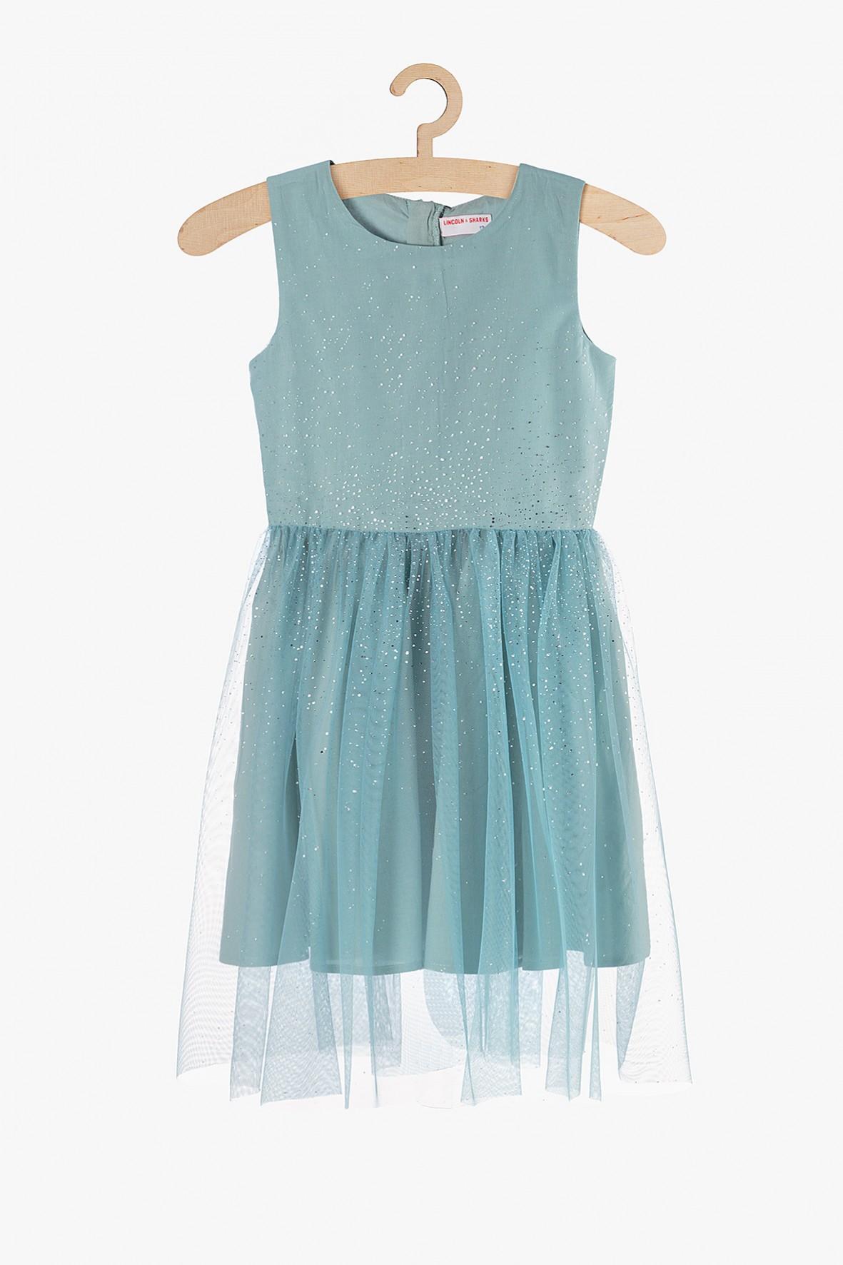Tiulowa sukienka dla dziewczynki