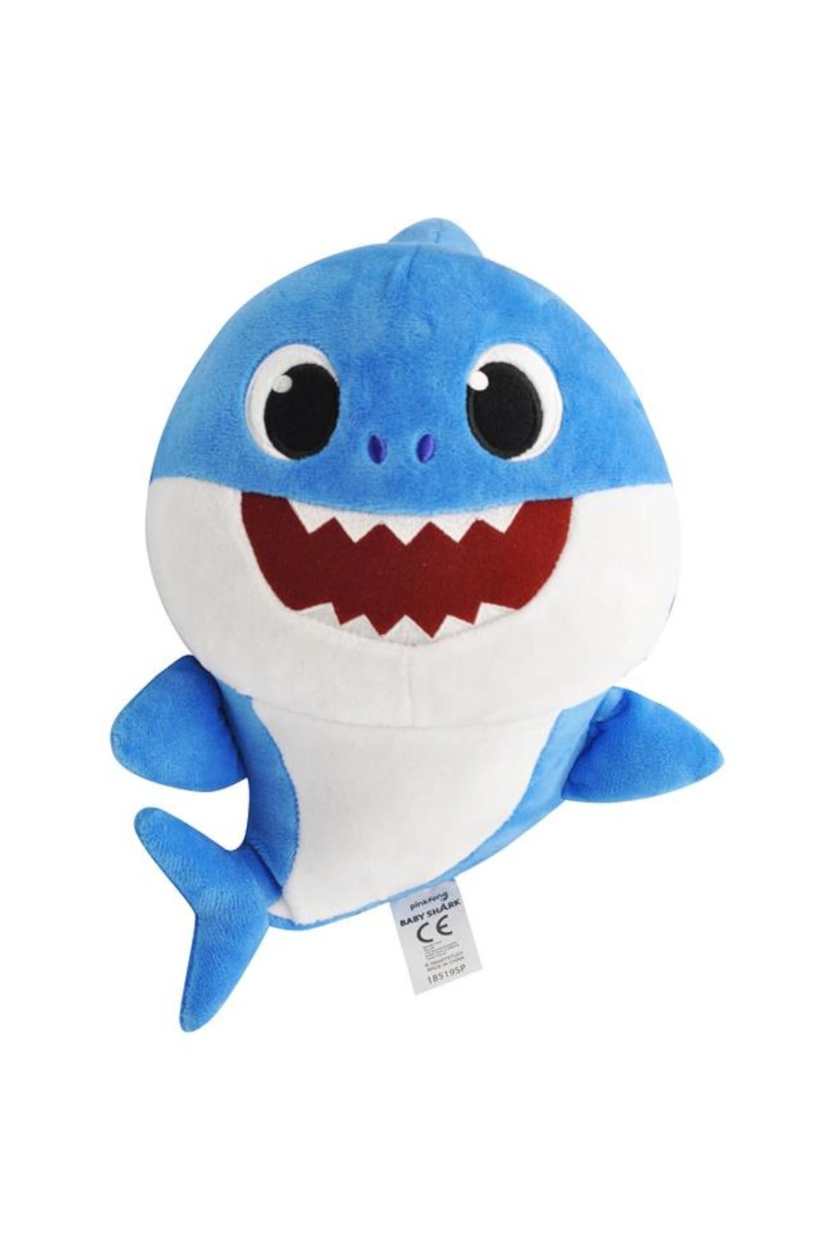 Baby Shark Maskotka - Pacynka śpiewająca Daddy Shark