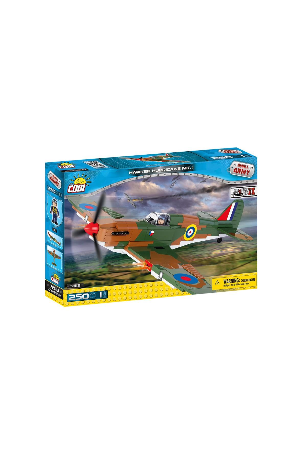 Klocki Cobi Small Army Hawker Hurricane MK.I 251el