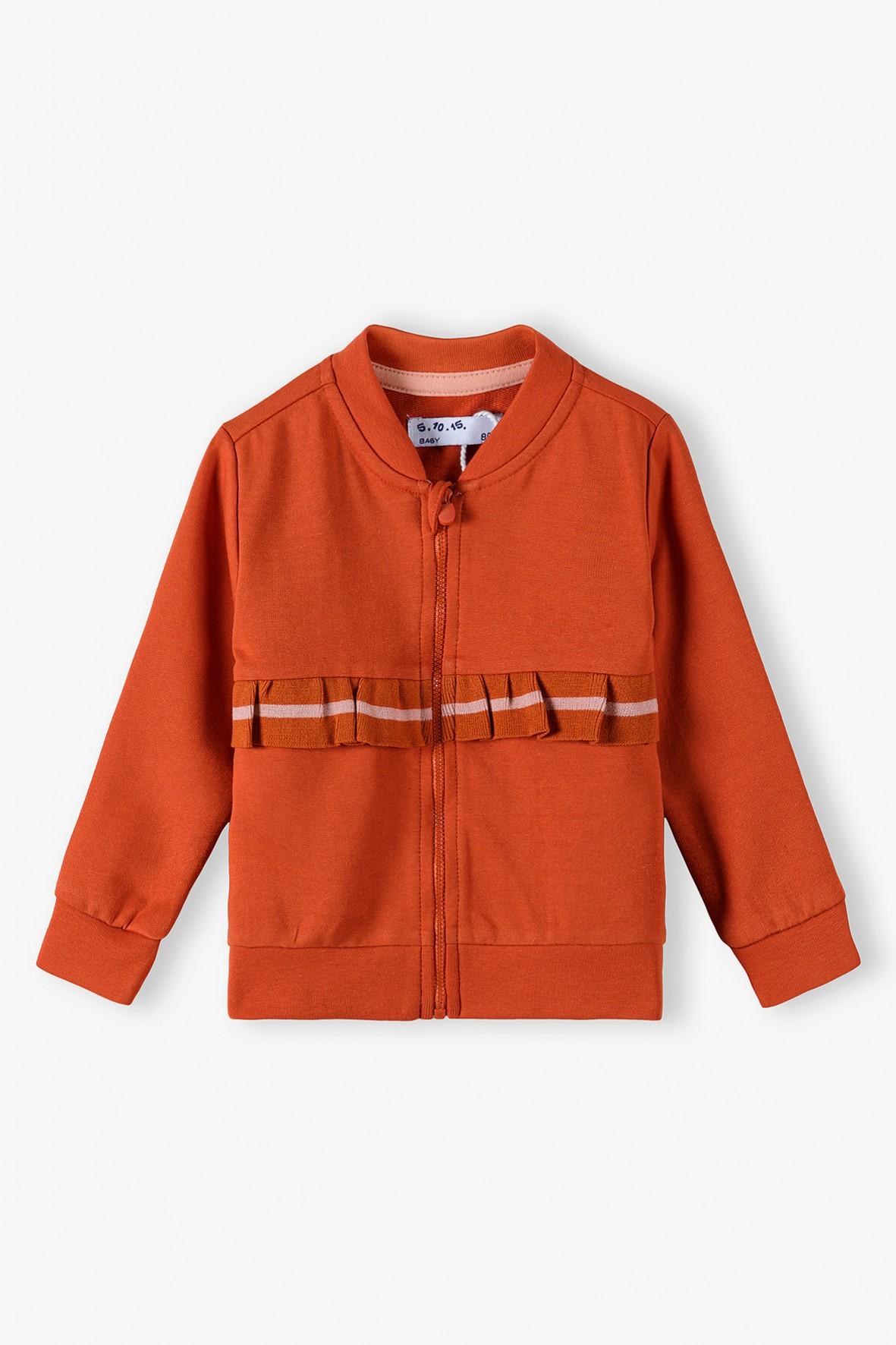 Dresowa bluza dla niemowlaka