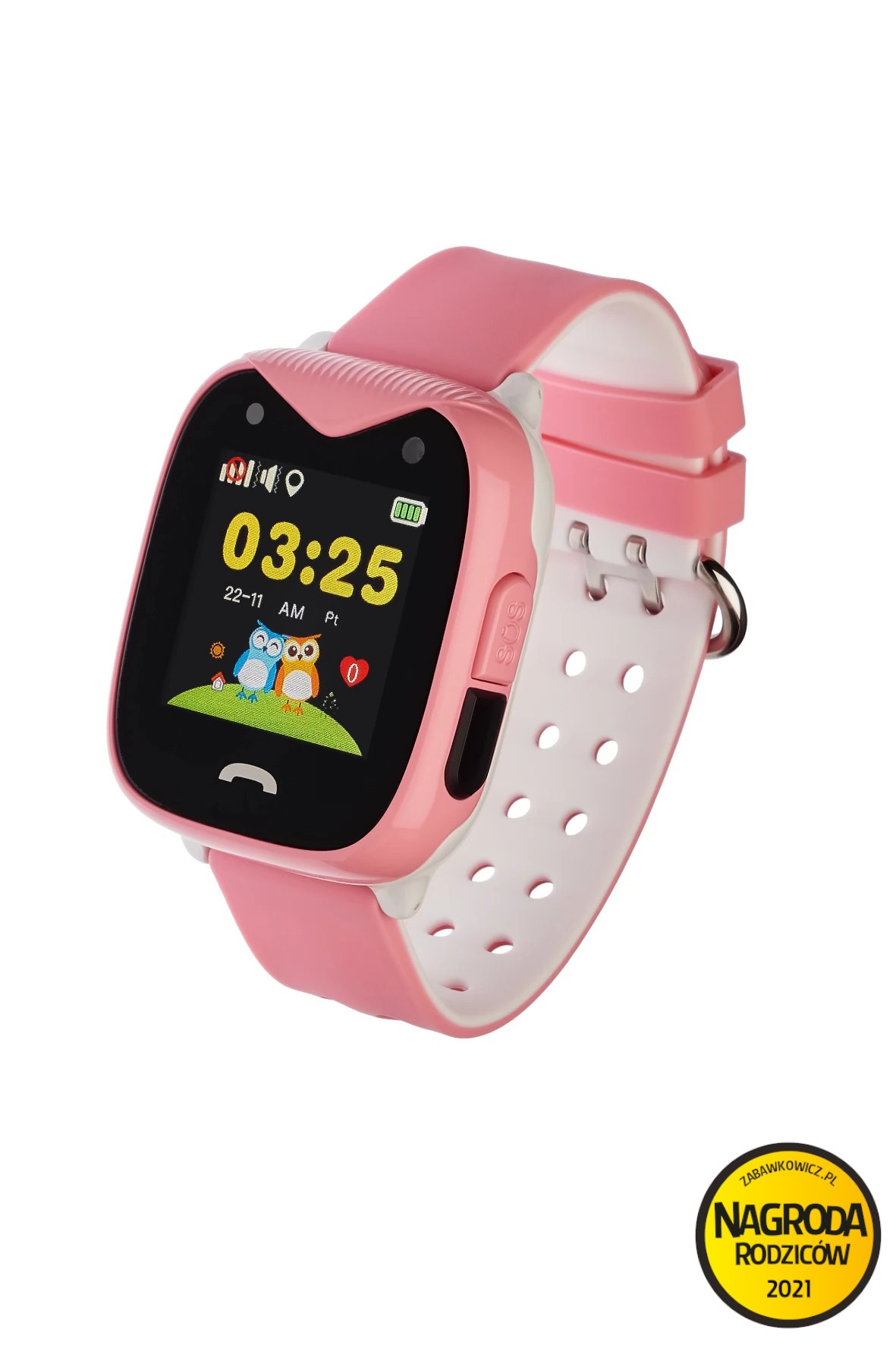 Smartwatch Garett Kids Sweet 2 z geolokalizacja - różowy