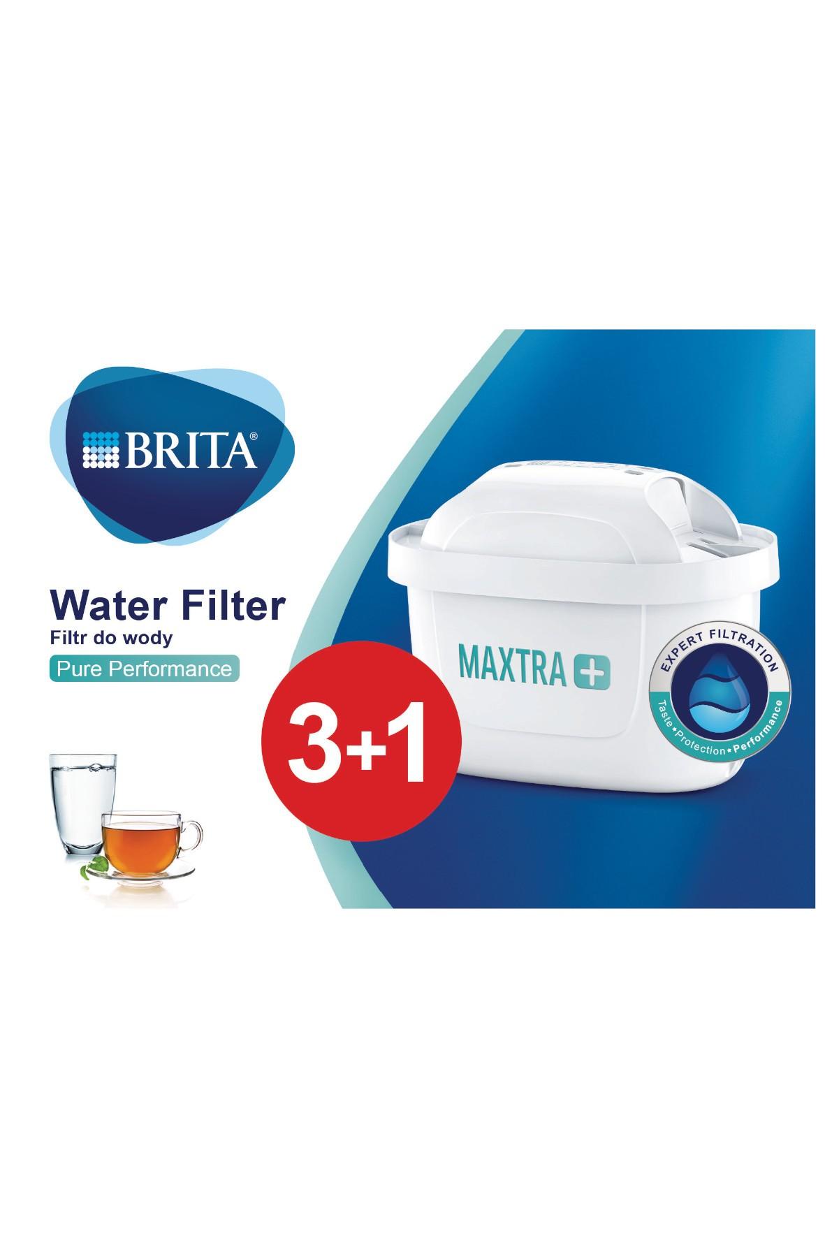 Filtr wymienny BRITA MX+ Pure Performance 3+1 szt