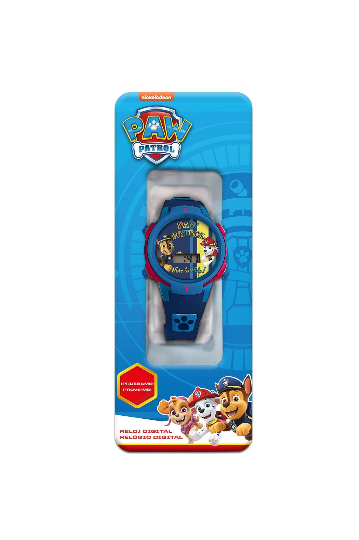 Zegarek cyfrowy ze światełkami LED Paw Patrol