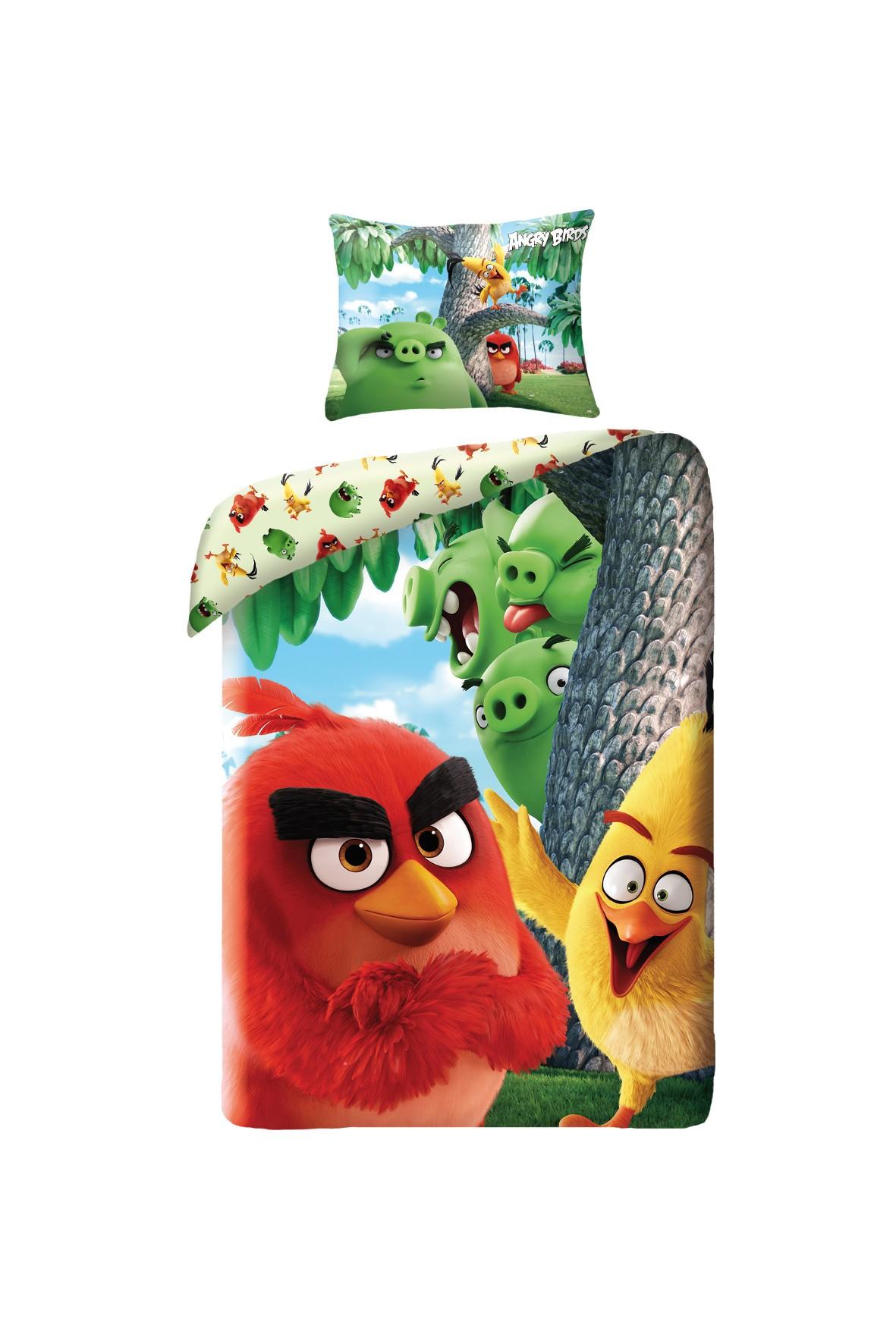 Pościel Angry Birds 140x200 cm