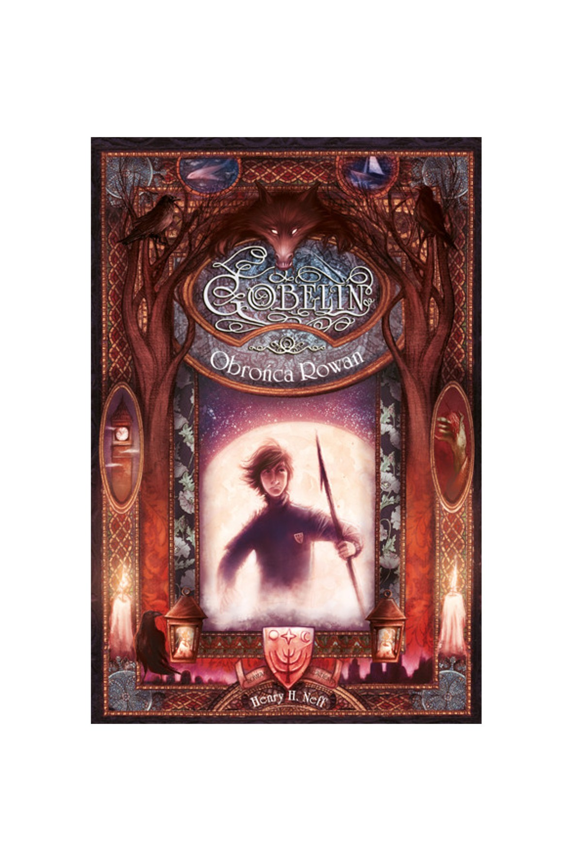 "Książka ""Gobelin. Obrońca Rowan""-H.Neff"