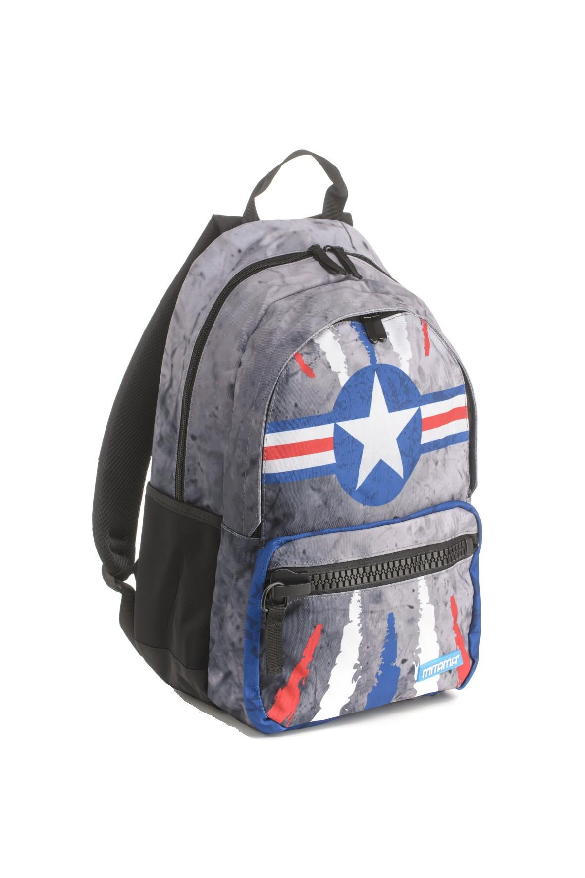 Plecak chłopięcy szkolny  Unlimited - szary