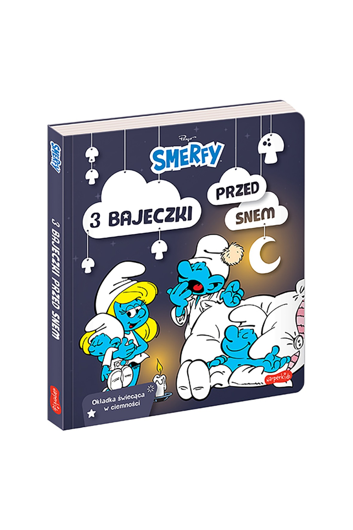 Smerfy. 3 Bajeczki Przed Snem - książka dla dzieci