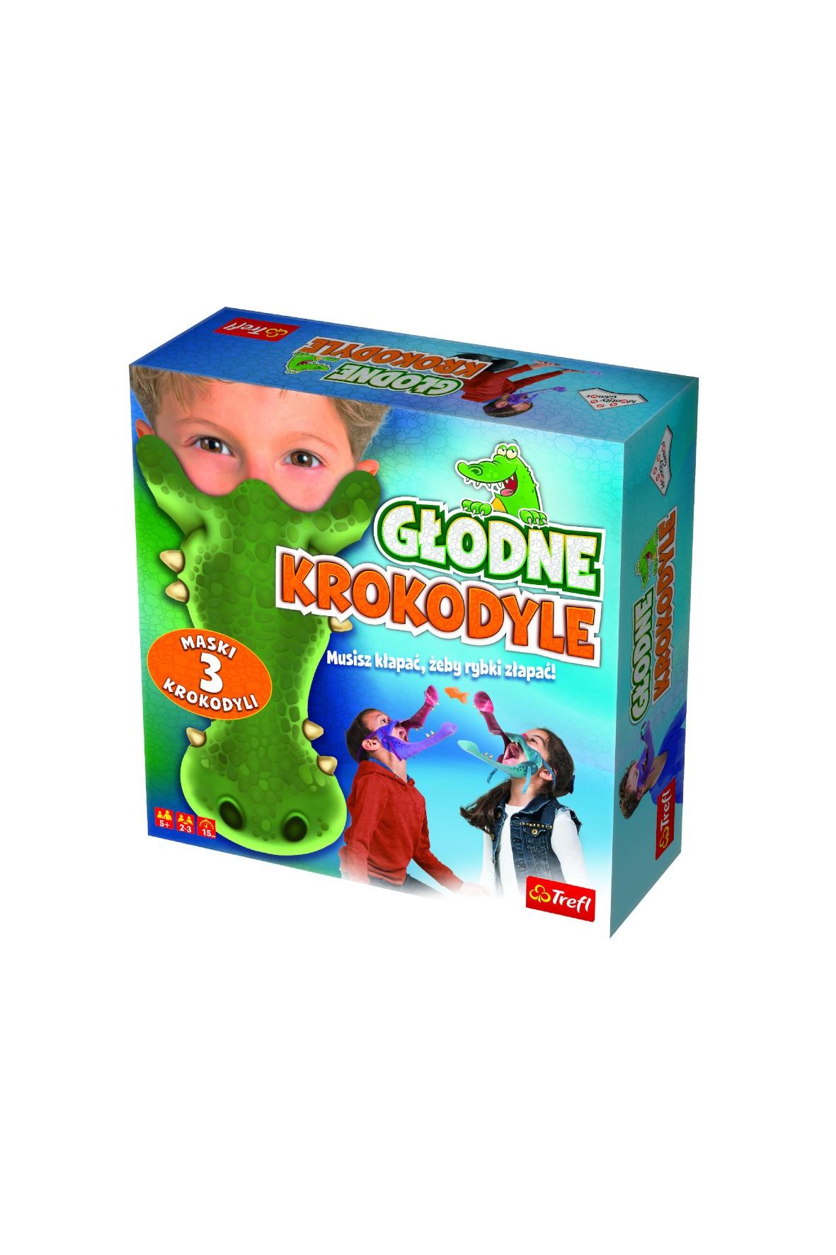Gra Trefl Głodne Krokodyle