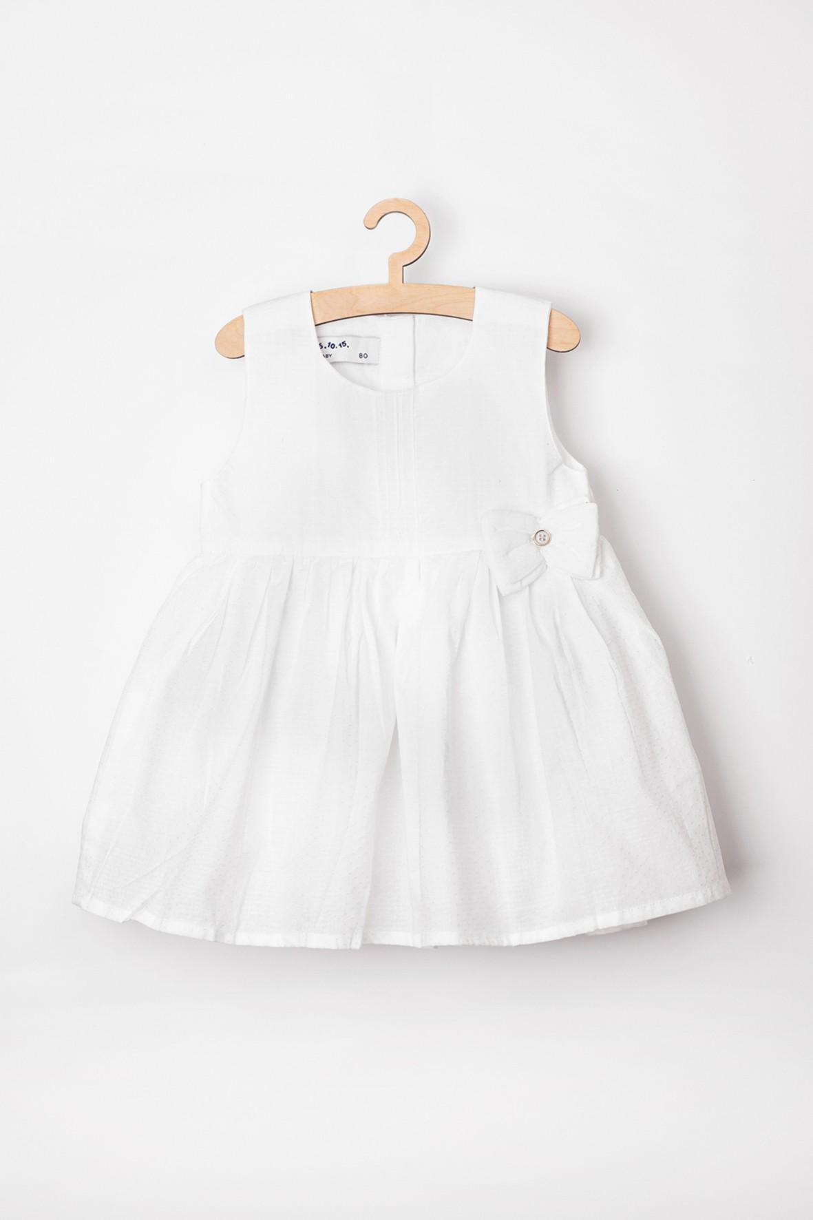 Sukienka niemowlęca biała