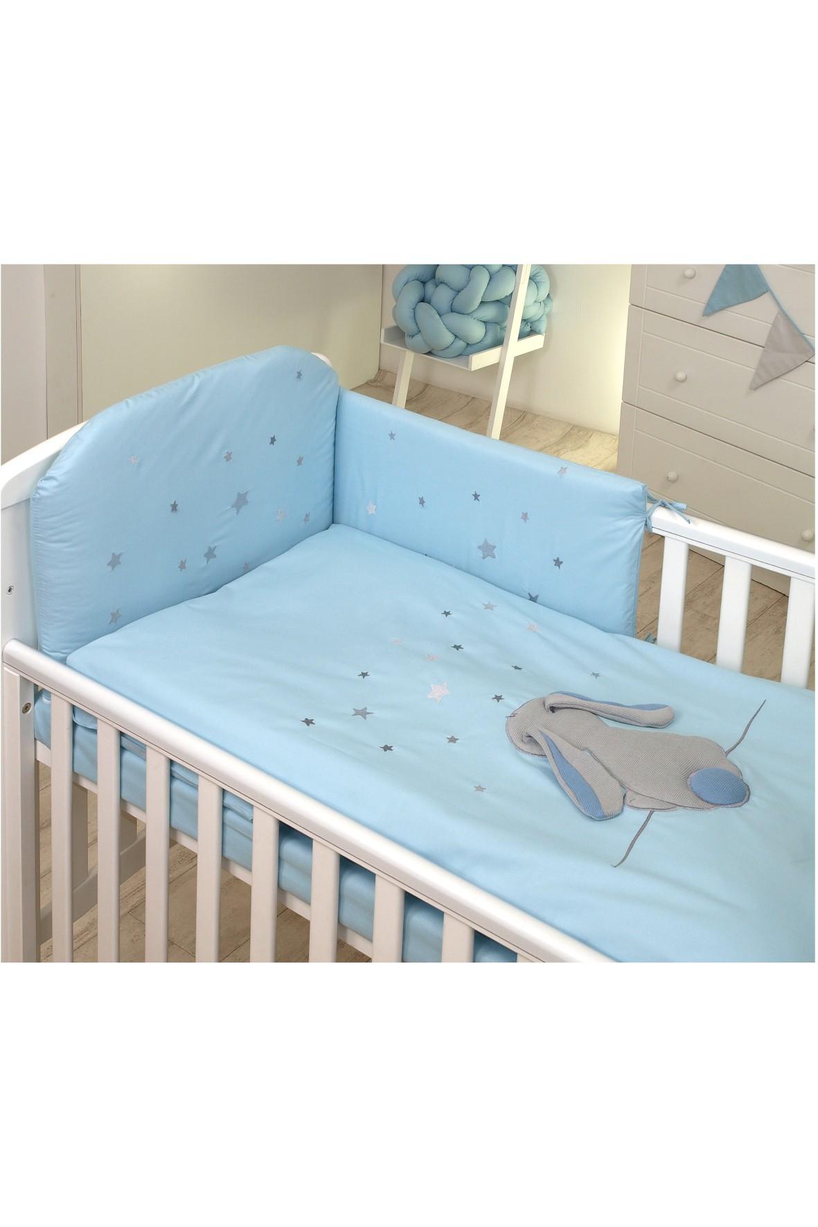 Pościel dla dzieci Amy 3-elementowa Fluffy Sea 135x100