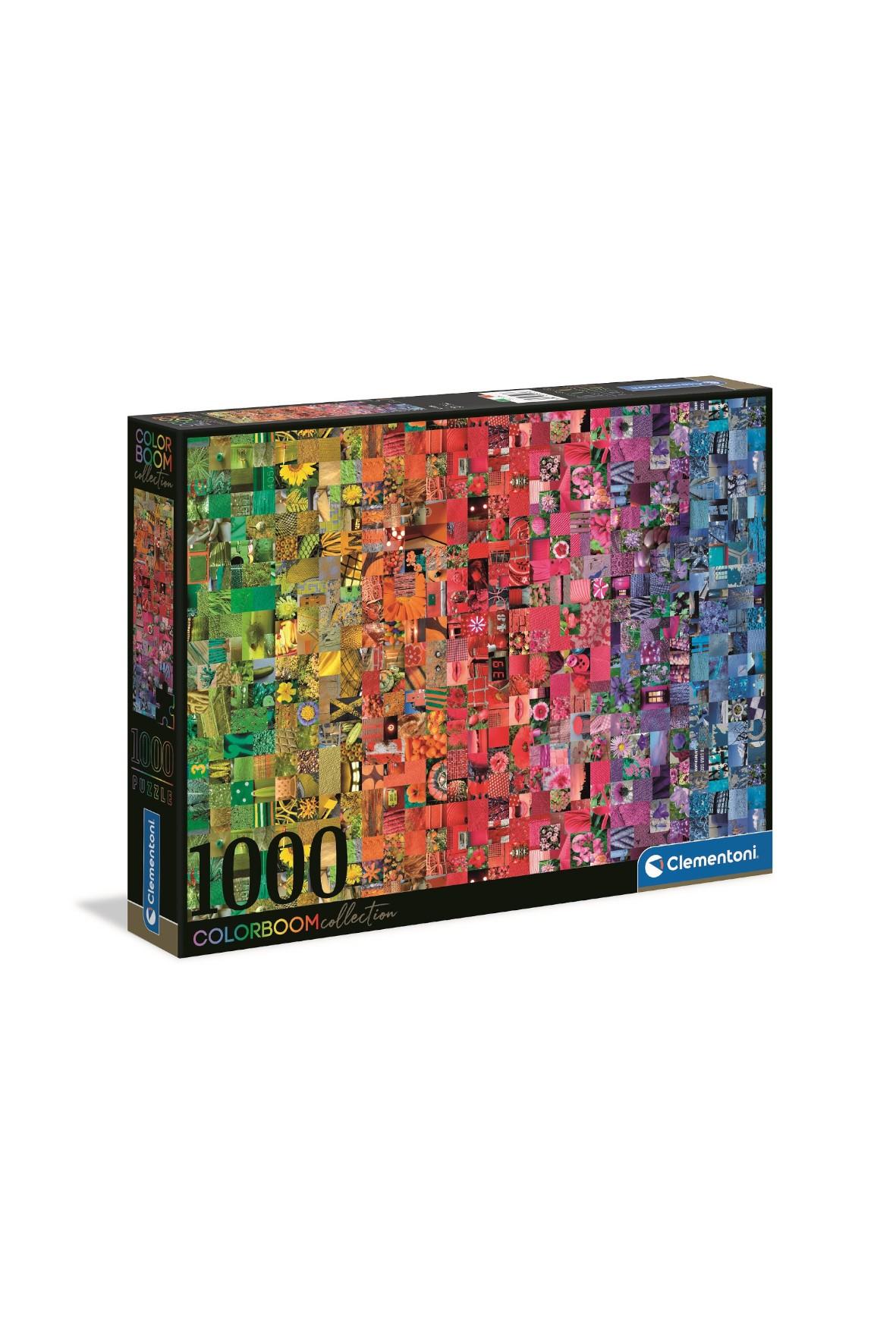 Puzzle color boom Kolaż -  1000 elementów