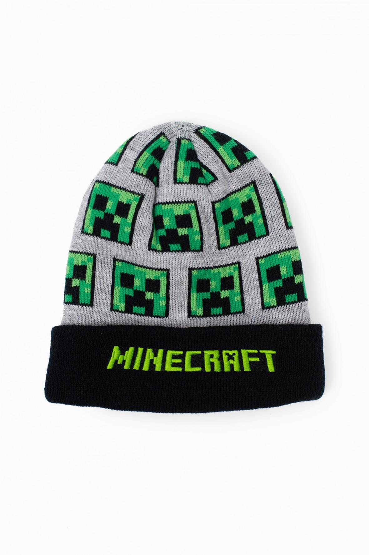 Czapka chłopięca z nadrukiem- Minecraft