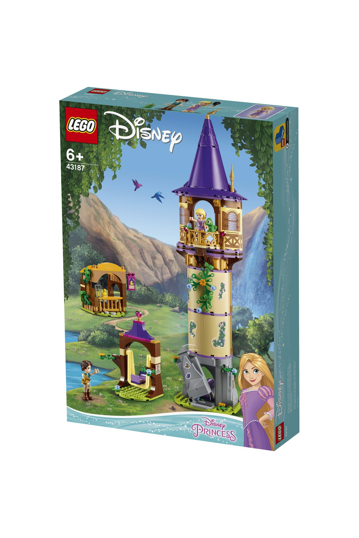 LEGO® Disney Princess Wieża Roszpunki 369elementów wiek 6+