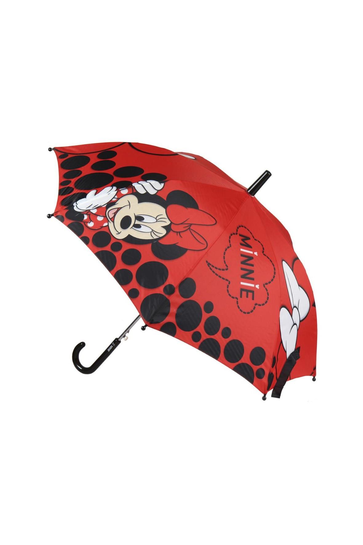 Parasol Minnie - czerwony