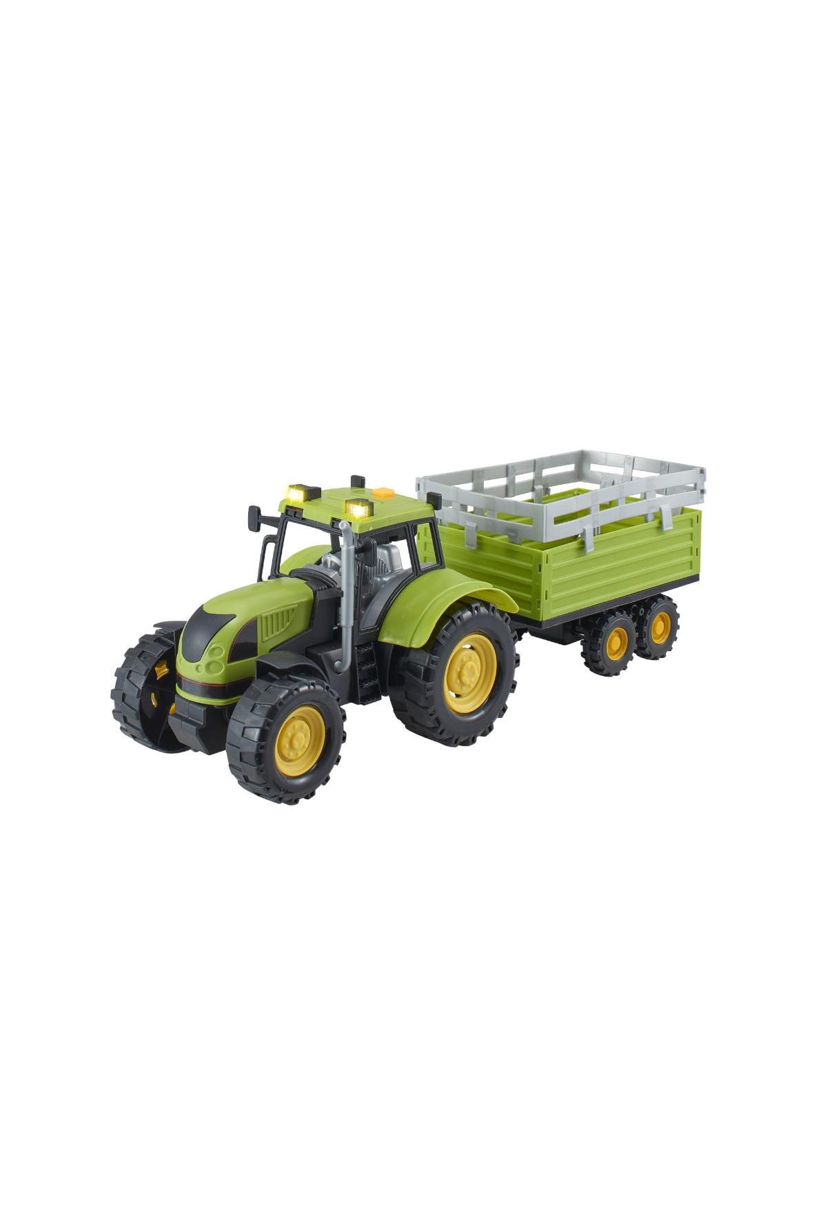 Agro pojazdy - Traktor z naczepą wiek 3+