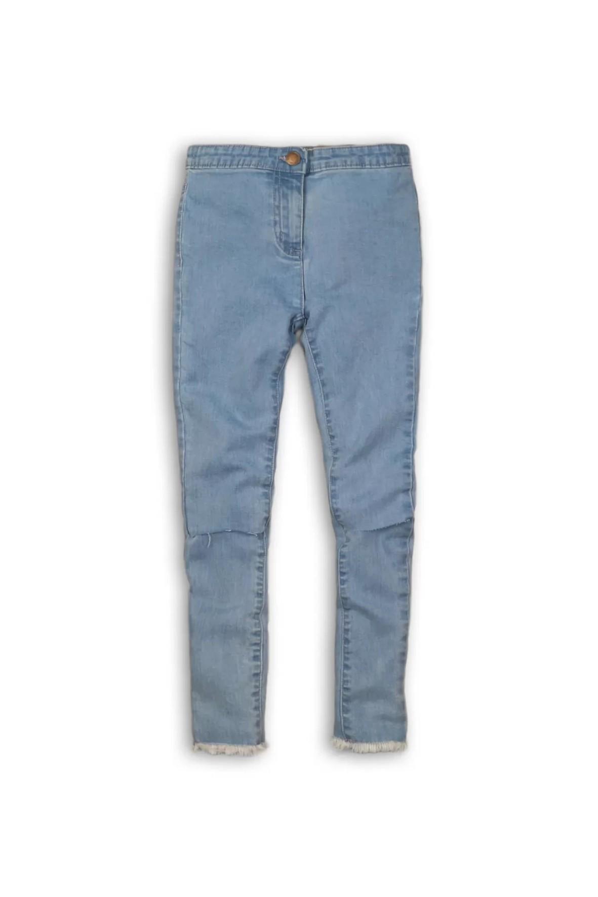 Jegginsy dziewczęce jeansowe- niebieskie