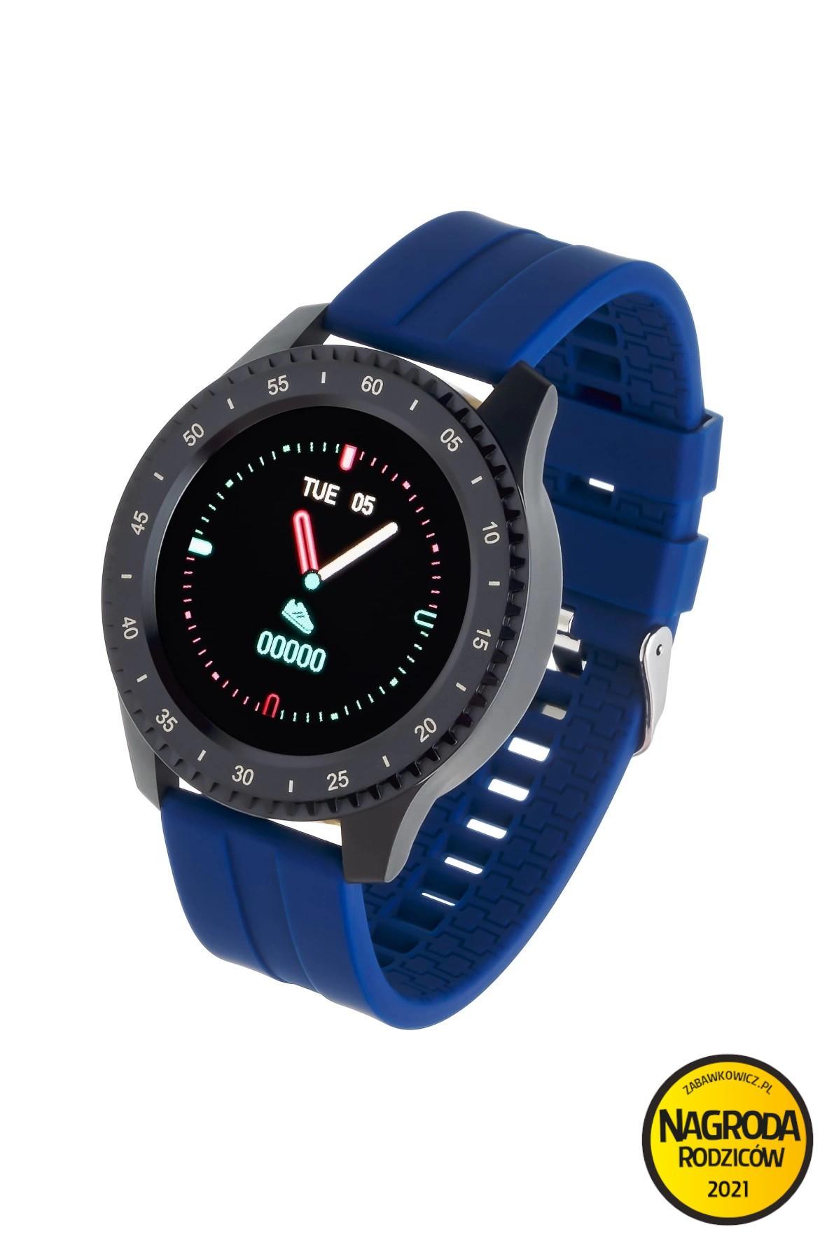 Smartwatch Garett Sport 12 -  granatowy