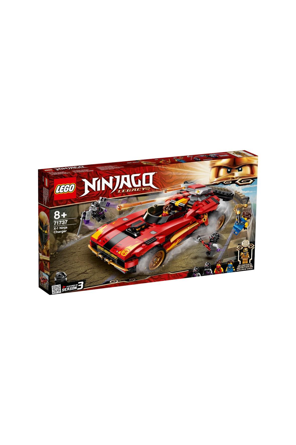 LEGO Ninjago - Ninjaścigacz - 599 elementów