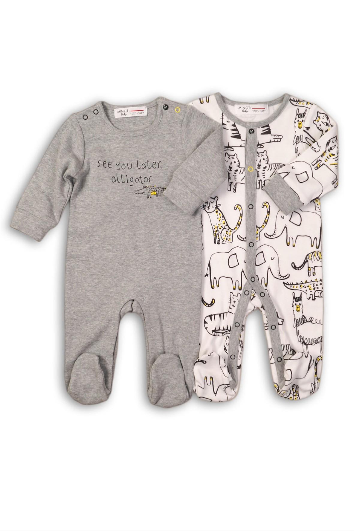 Pajac niemowlęcy dwupak