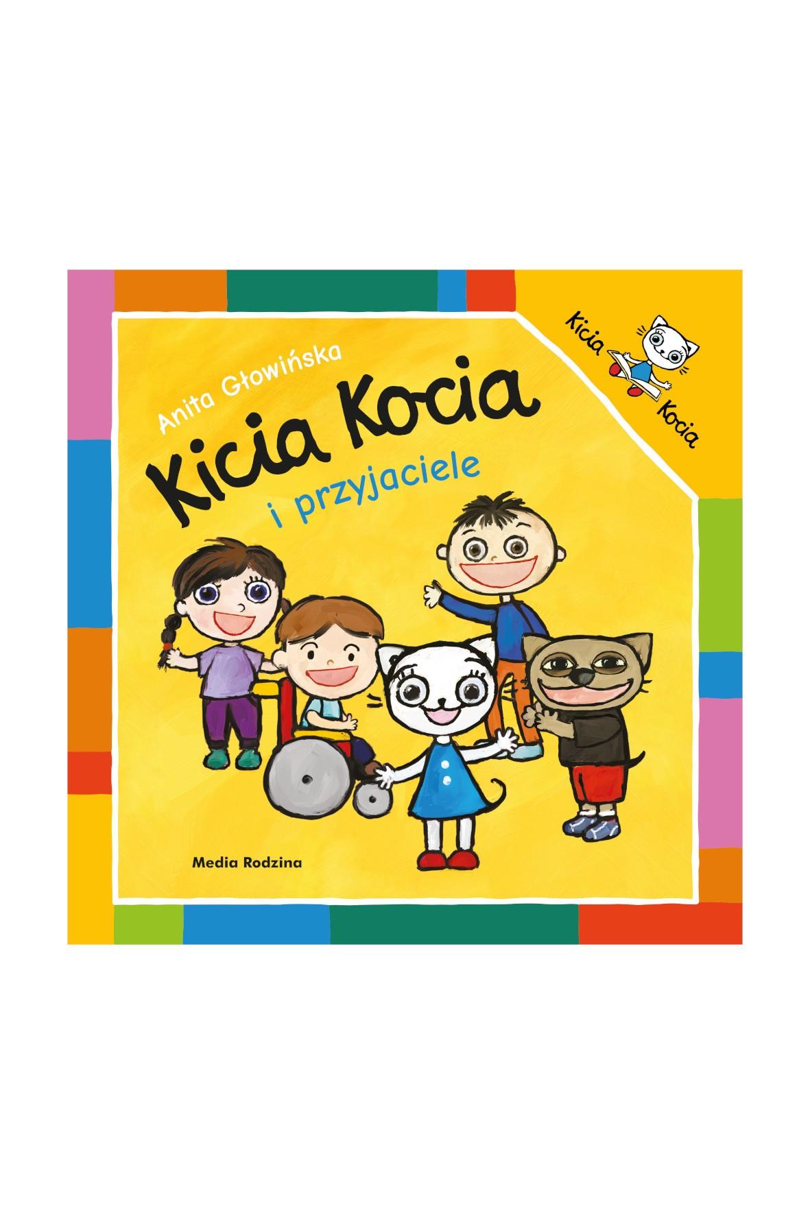 Książka dla dzieci - Kicia Kocia i przyjaciele wiek 2+