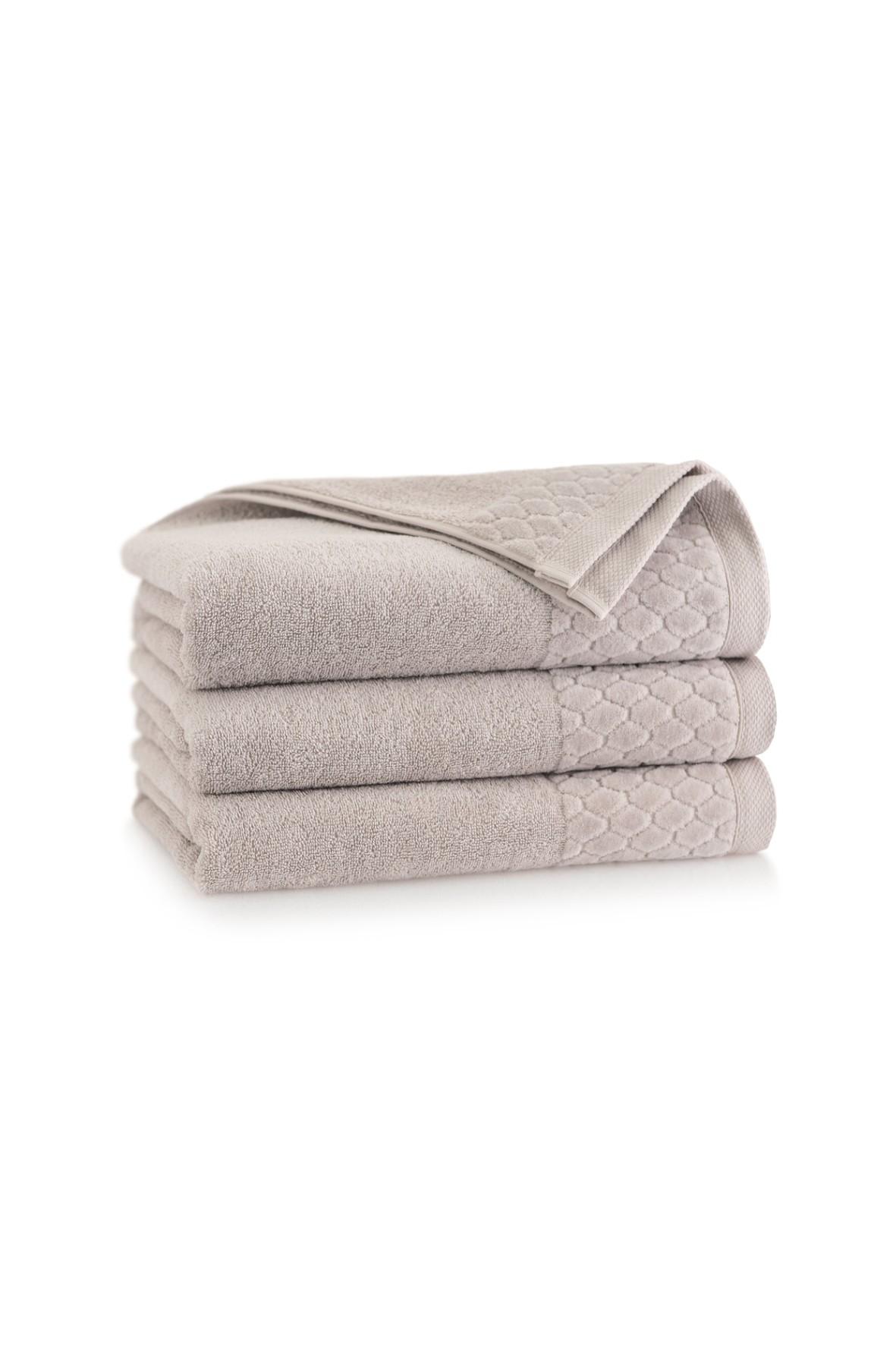 Ręcznik antybakteryjny Carlo z bawełny egipskiej sepia - 2pack 30x50cm