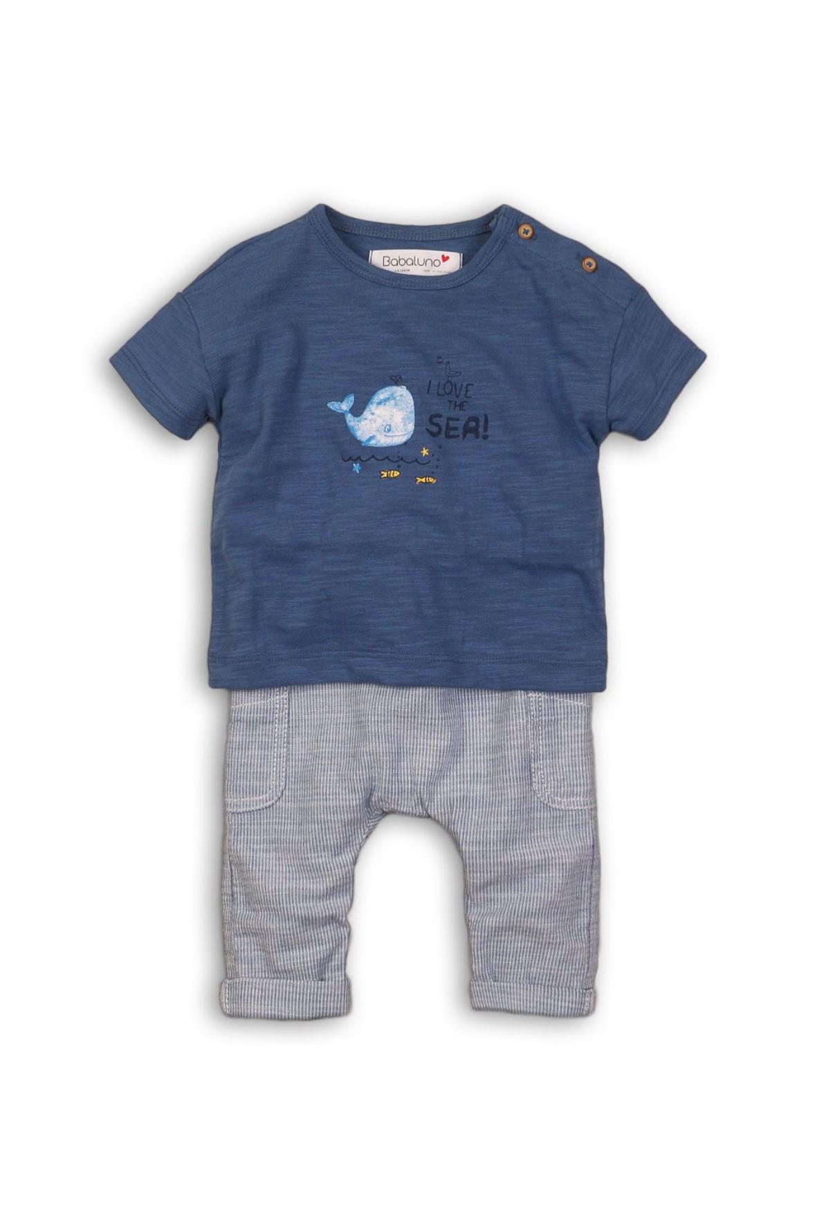 Komplet ubranek dla niemowlaka bluzka i spodnie