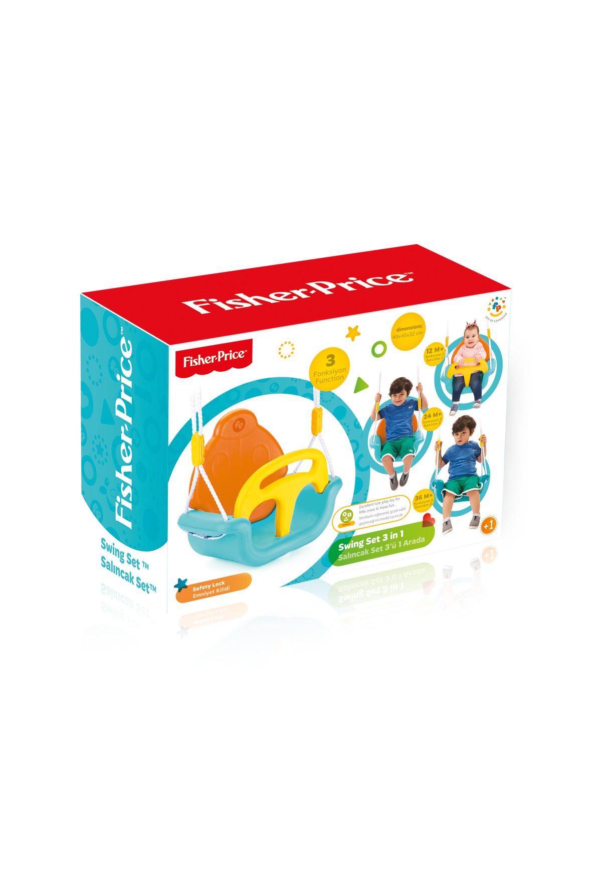 Huśtawka dla dziecka  3w1 Fisher Price