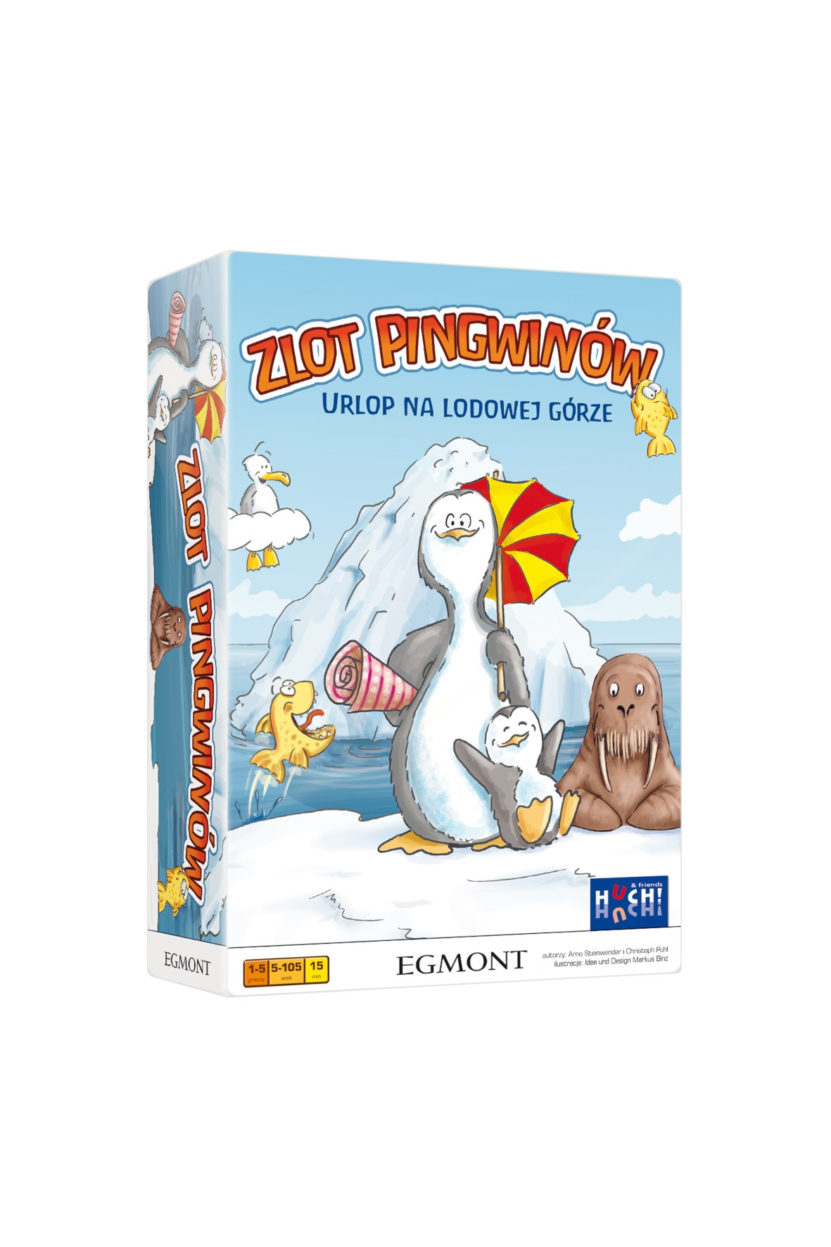 Gra planszowa- ZLOT PINGWINÓW wiek 5+
