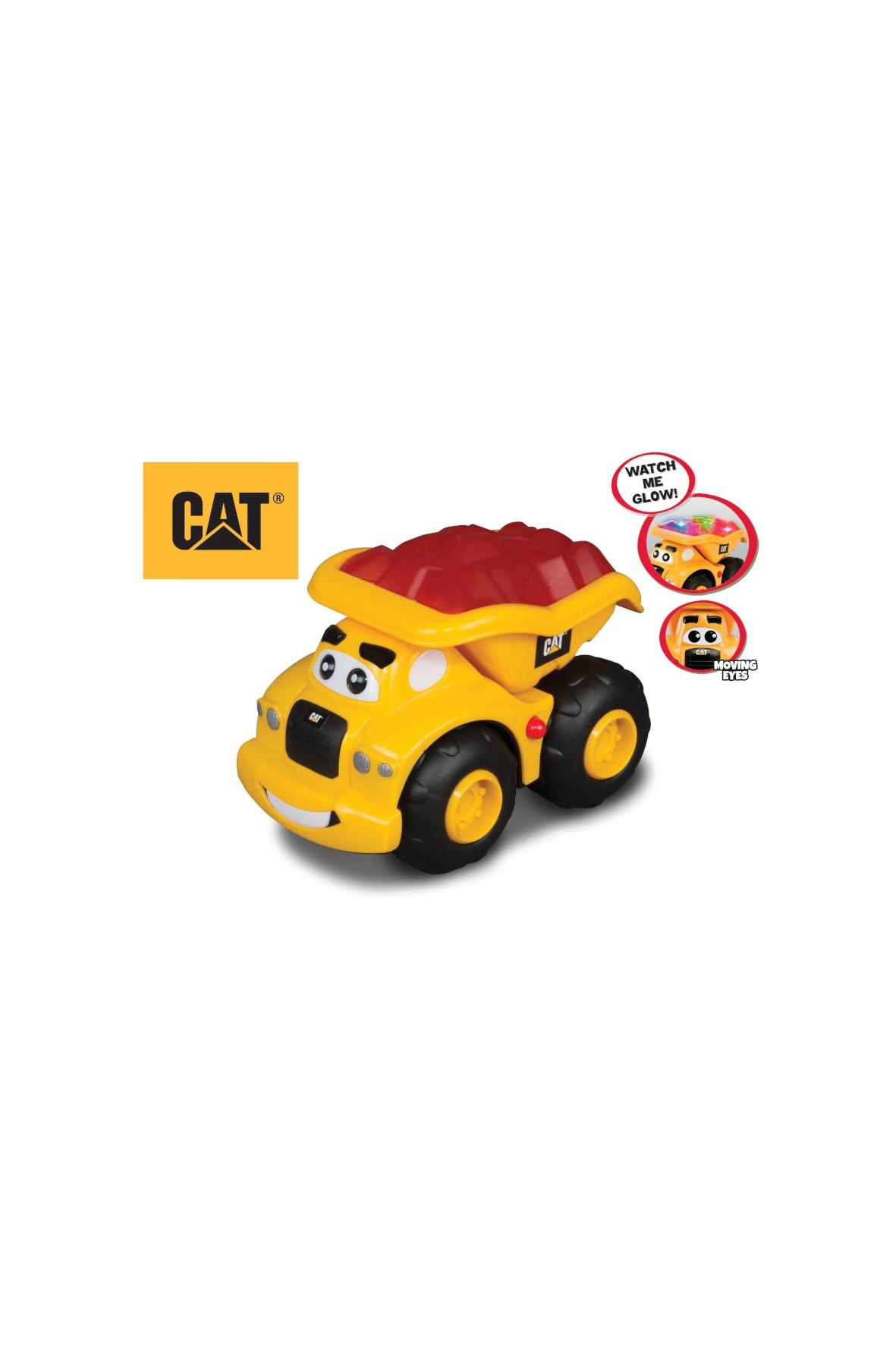 Auto Glow machines wywrotka- światło-dźwięk-muzyka CAT 2+